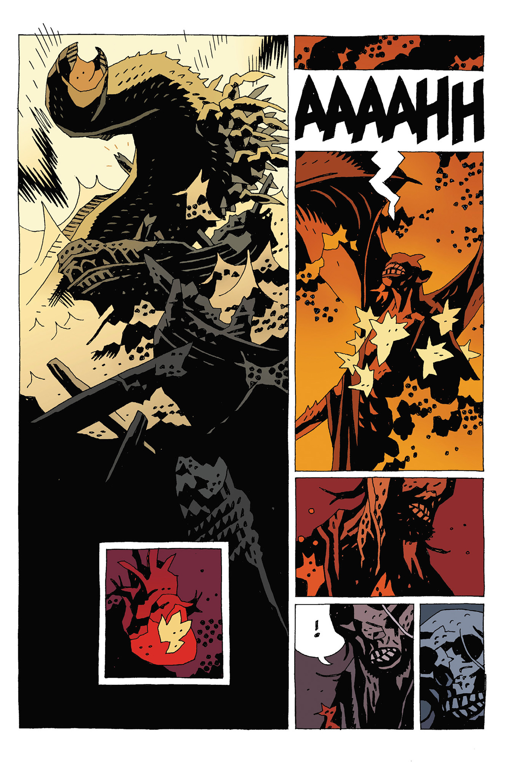 Read online Hellboy: Strange Places comic -  Issue # TPB - 121