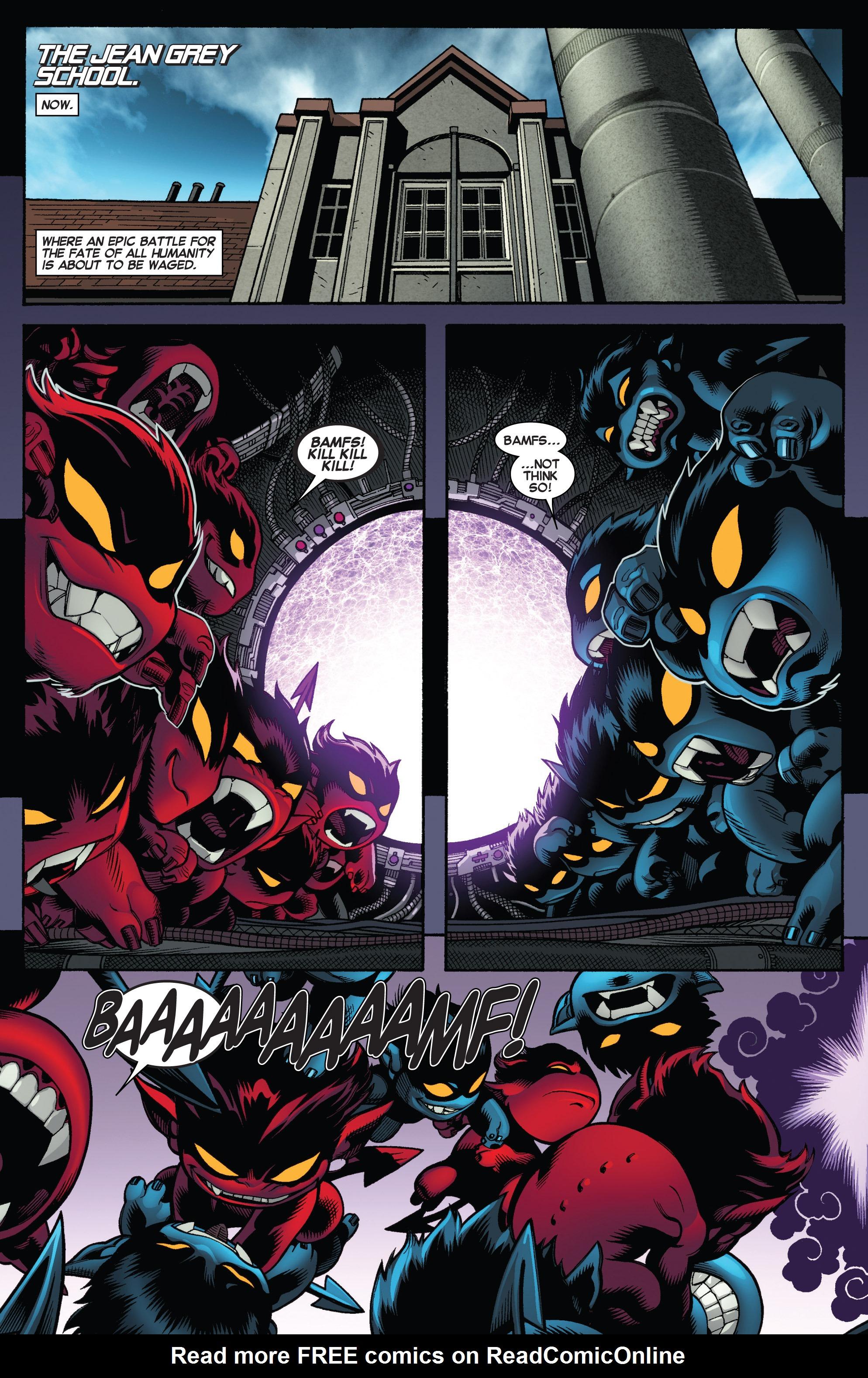 Read online Amazing X-Men (2014) comic -  Issue #5 - 3