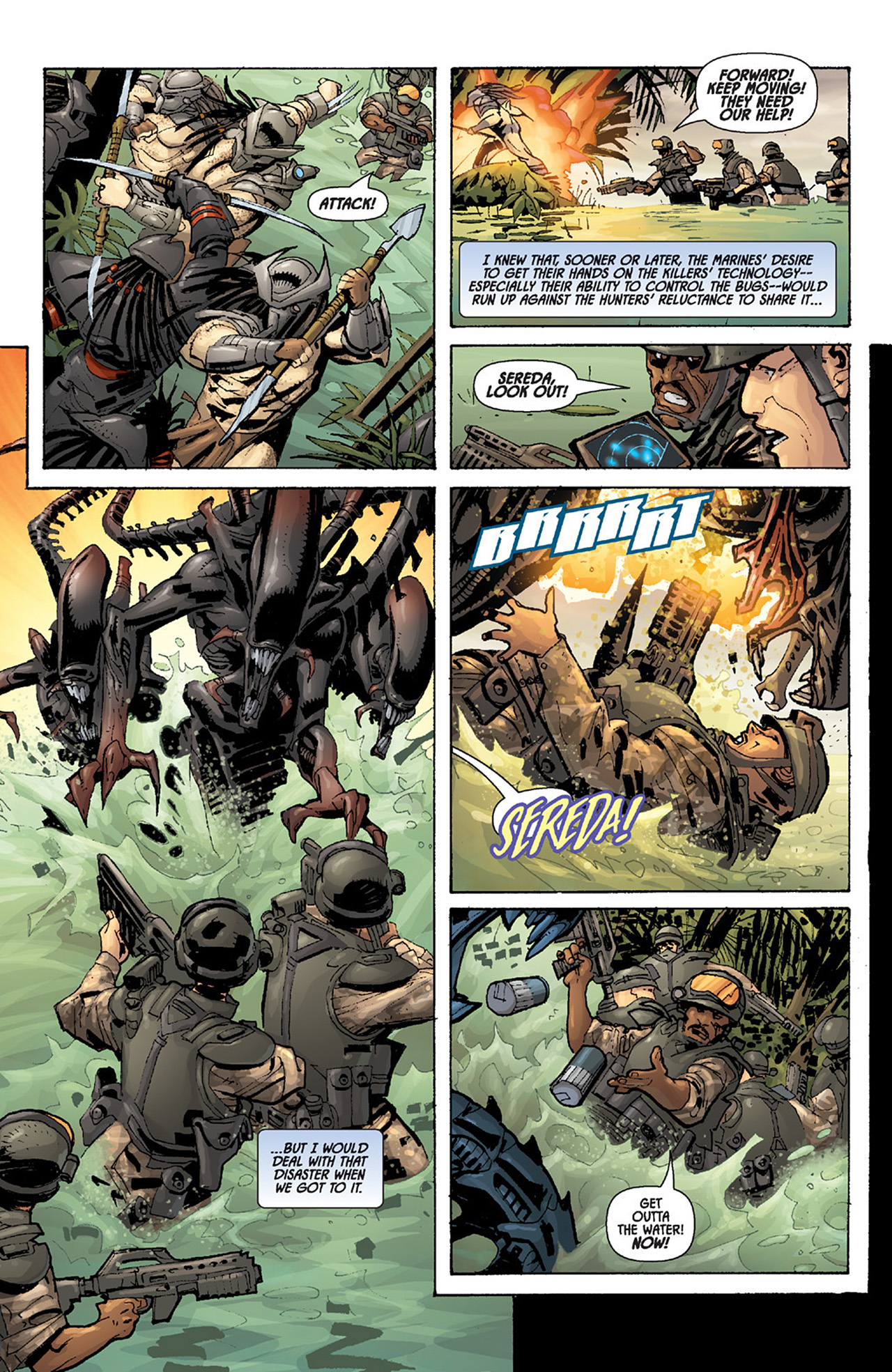 Read online Aliens vs. Predator: Three World War comic -  Issue #5 - 20