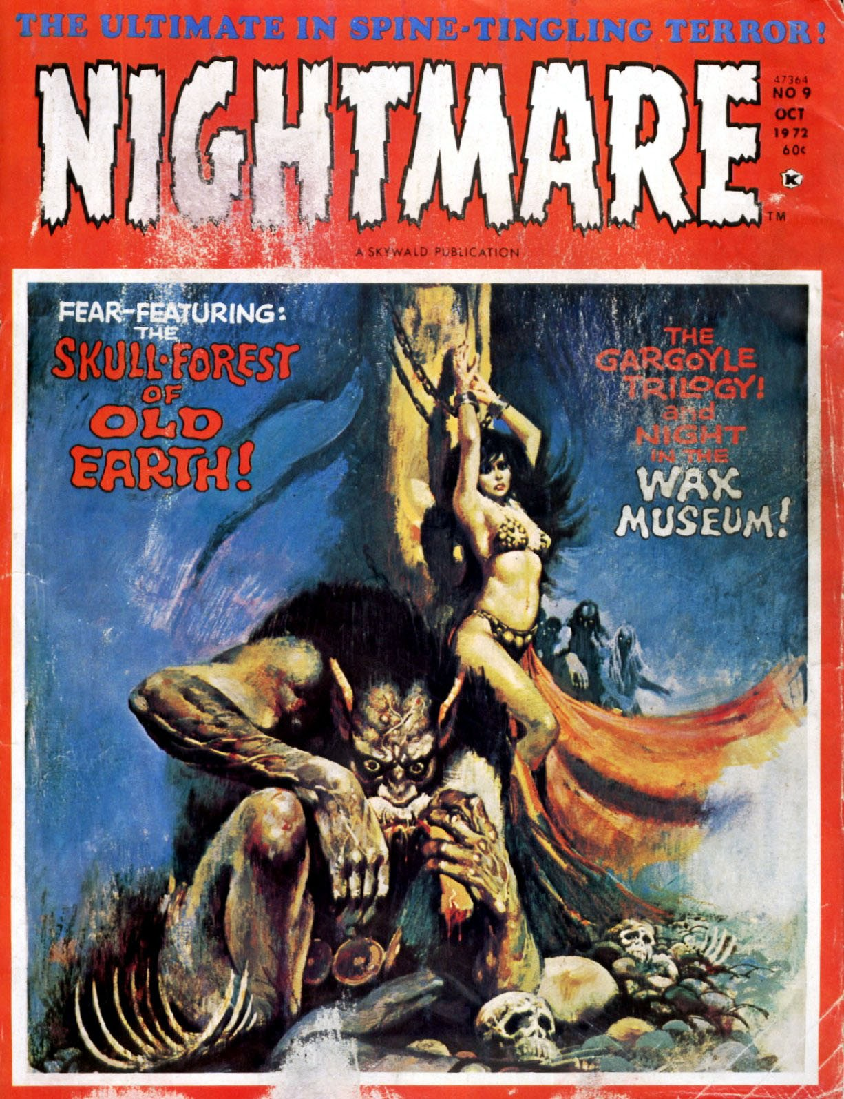 Nightmare (1970) issue 9 - Page 1
