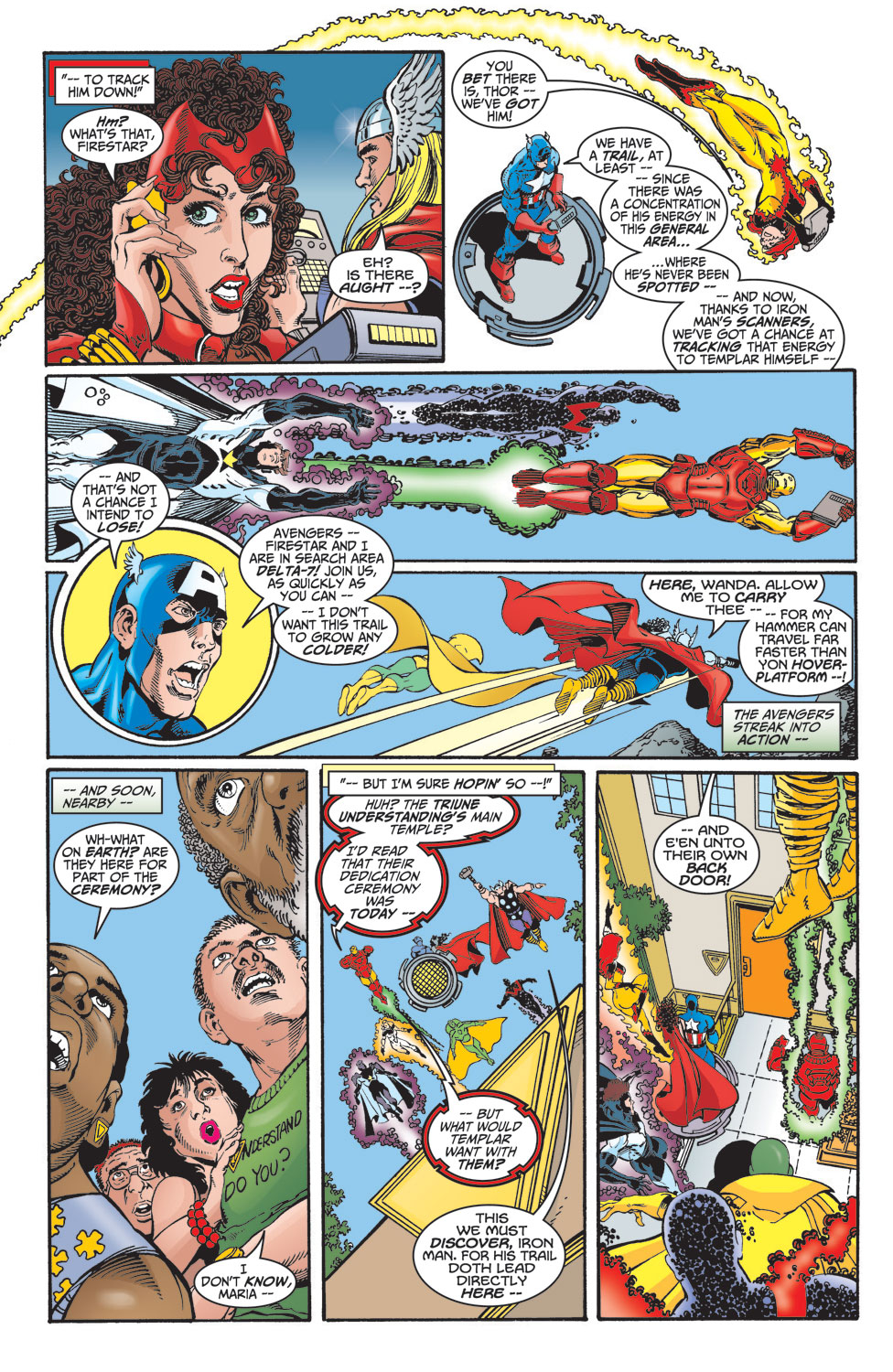Read online Avengers (1998) comic -  Issue #15 - 9