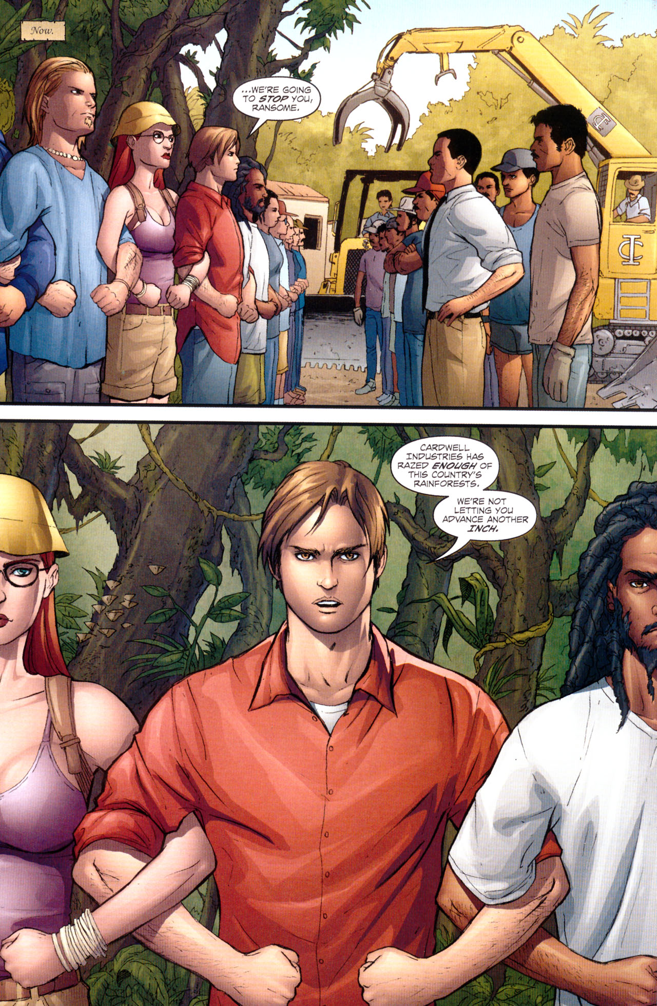 Read online Sheena, Queen of the Jungle comic -  Issue #1 - 4