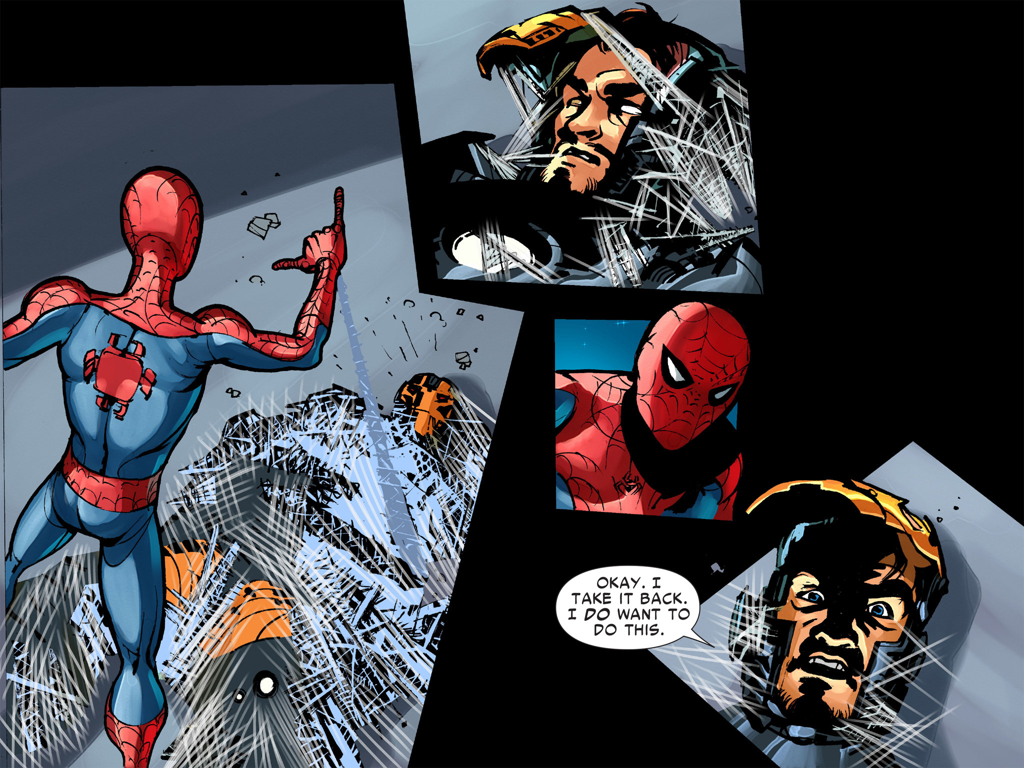 Read online Amazing Spider-Man: Who Am I? comic -  Issue # Full (Part 1) - 151