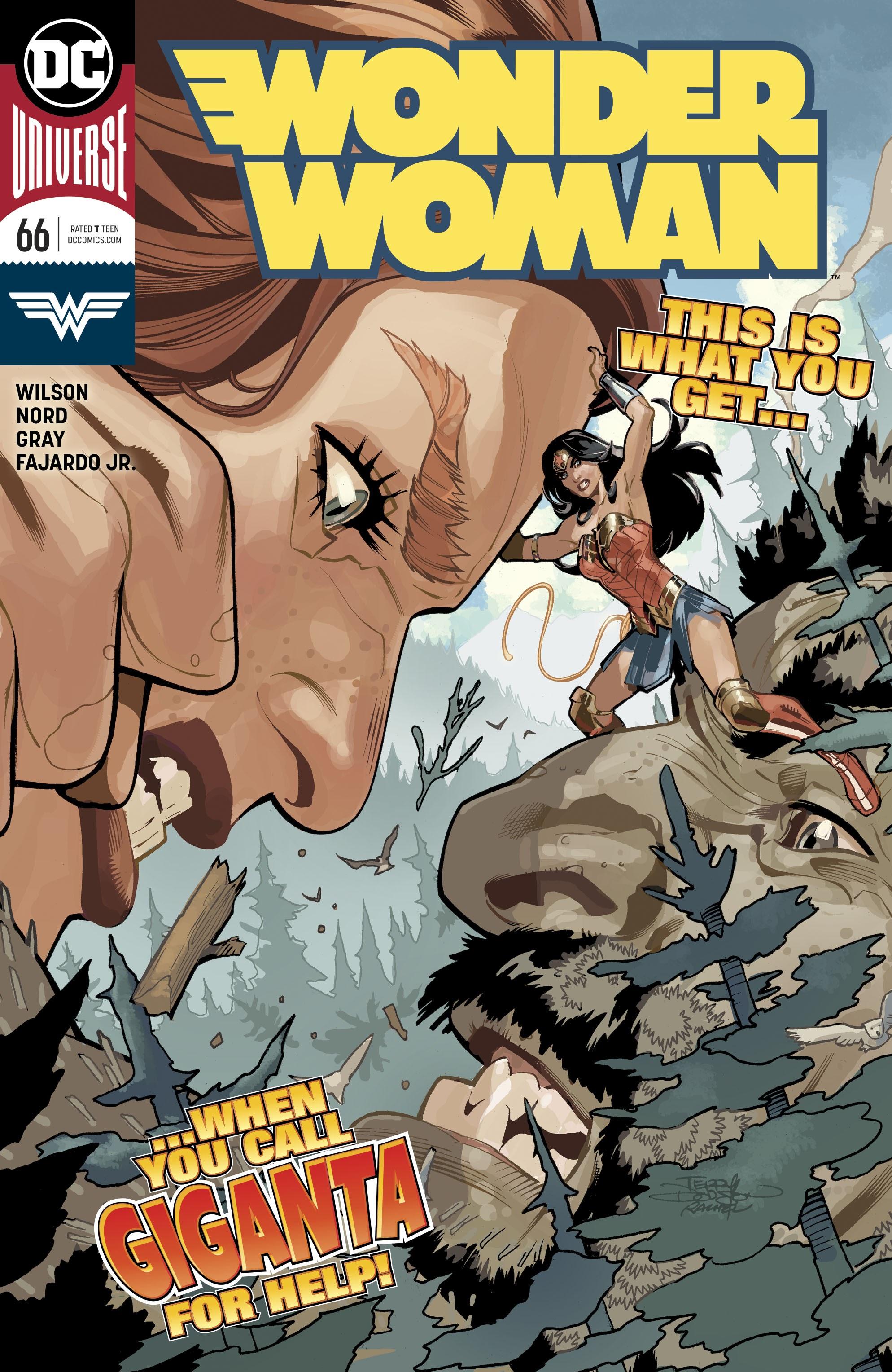 Wonder Woman (2016) 66 Page 1
