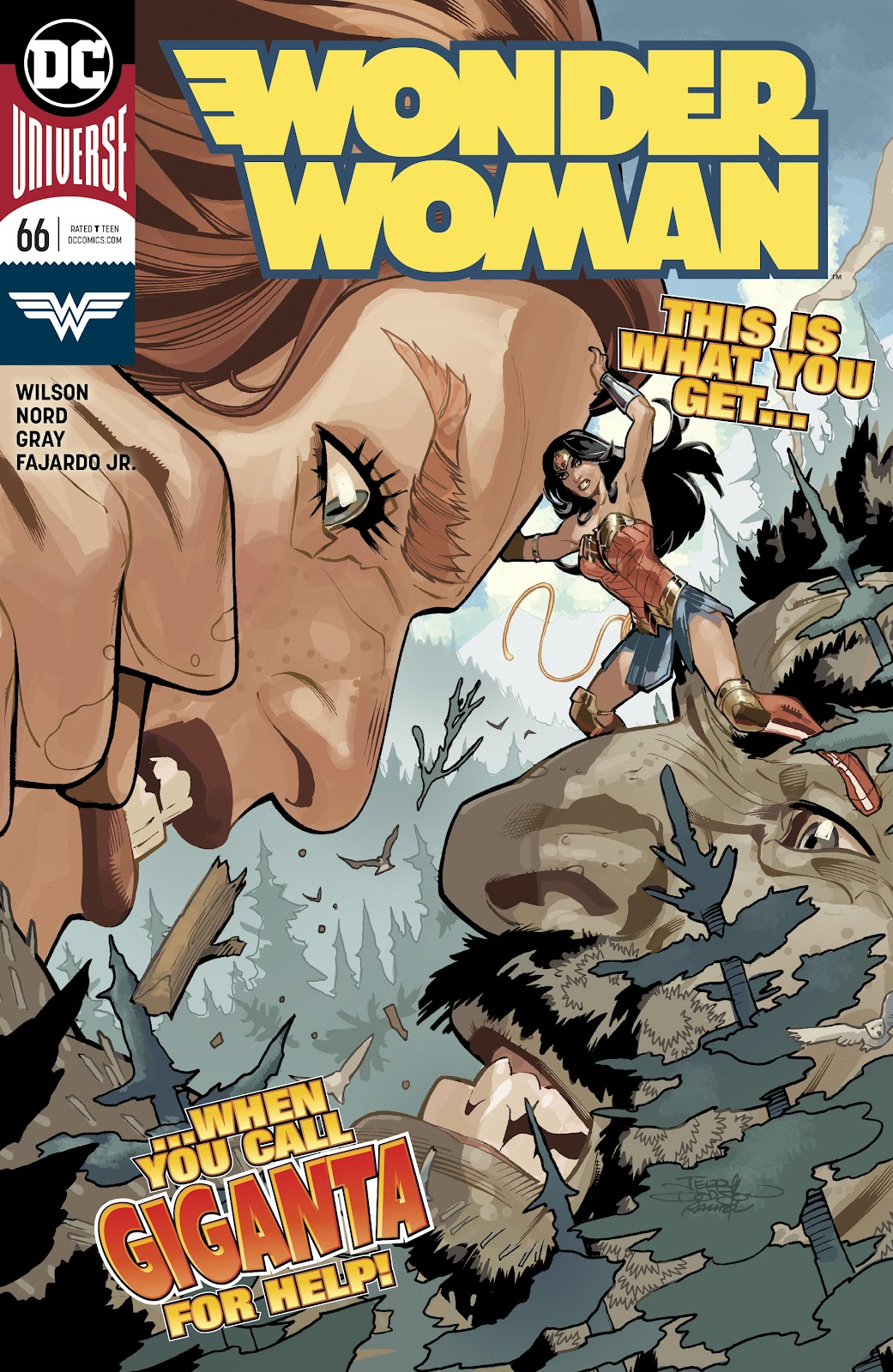 Wonder Woman (2016) issue 66 - Page 1