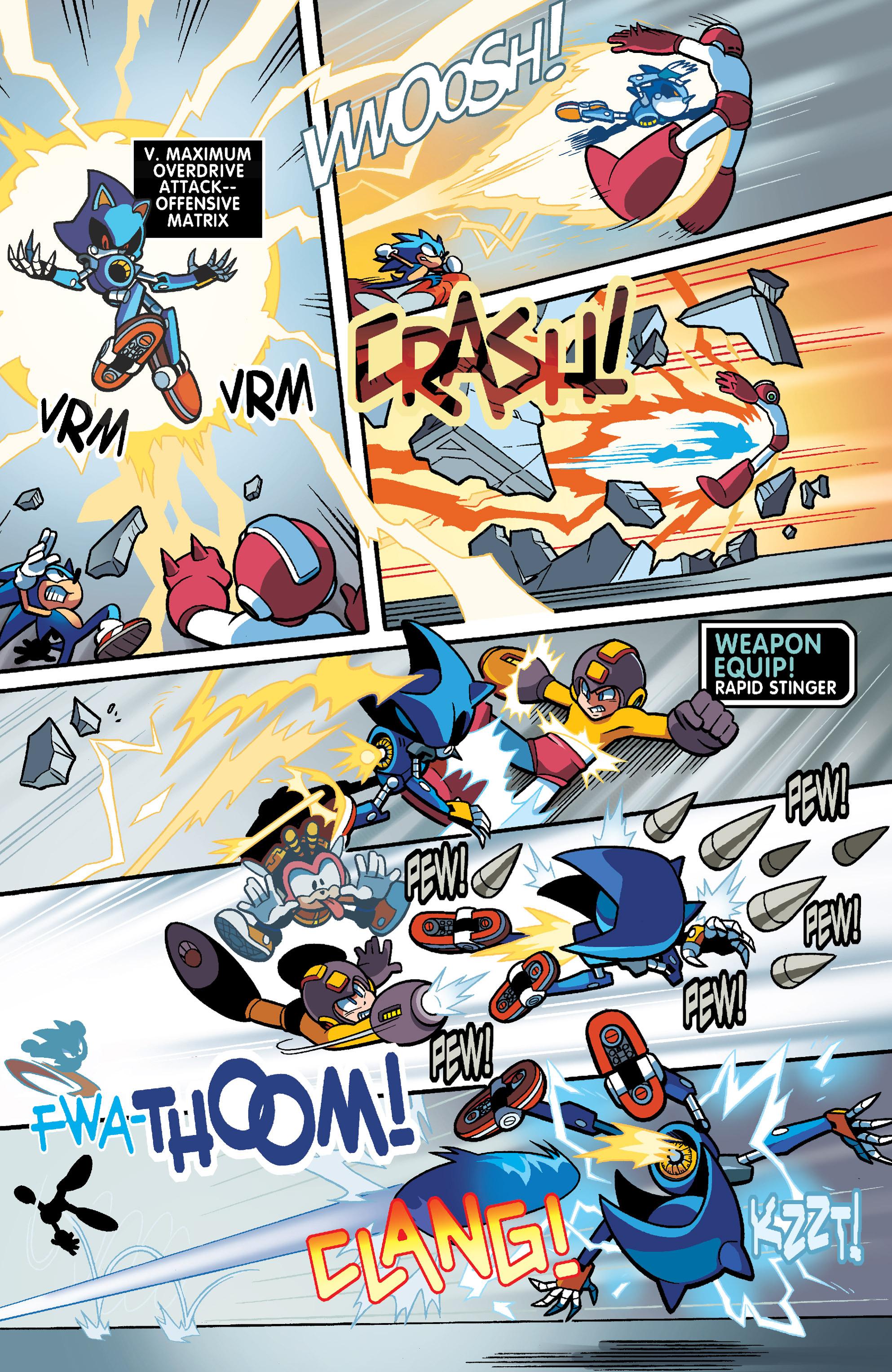 Read online Sonic Mega Man Worlds Collide comic -  Issue # Vol 3 - 86