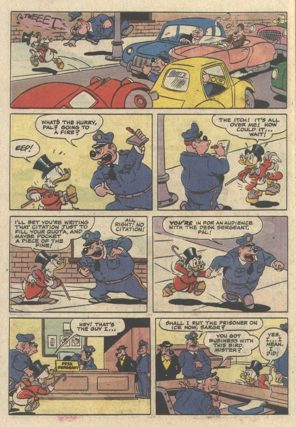 Read online Uncle Scrooge (1953) comic -  Issue #235 - 32