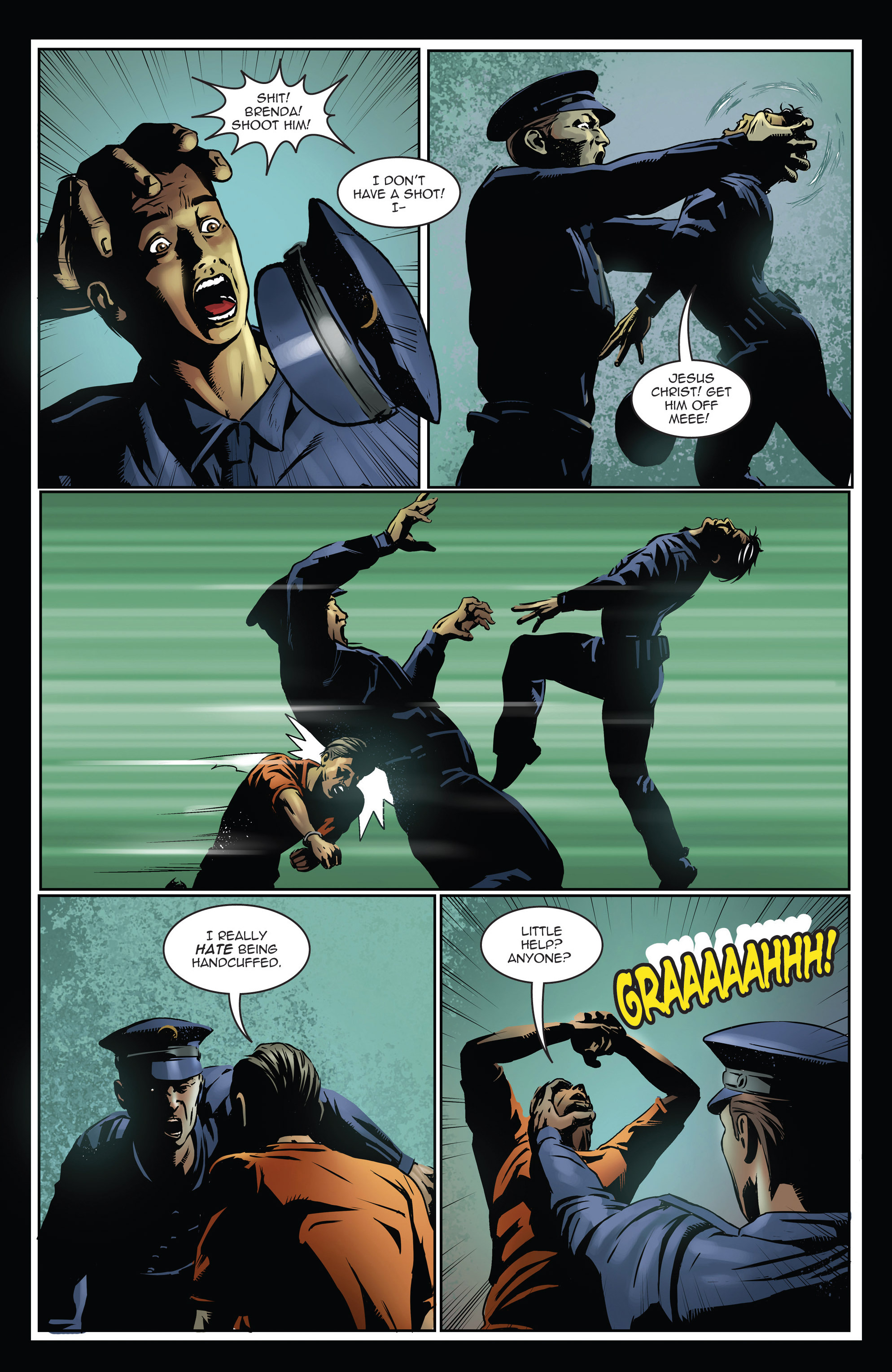 Read online Trancers comic -  Issue #3 - 7