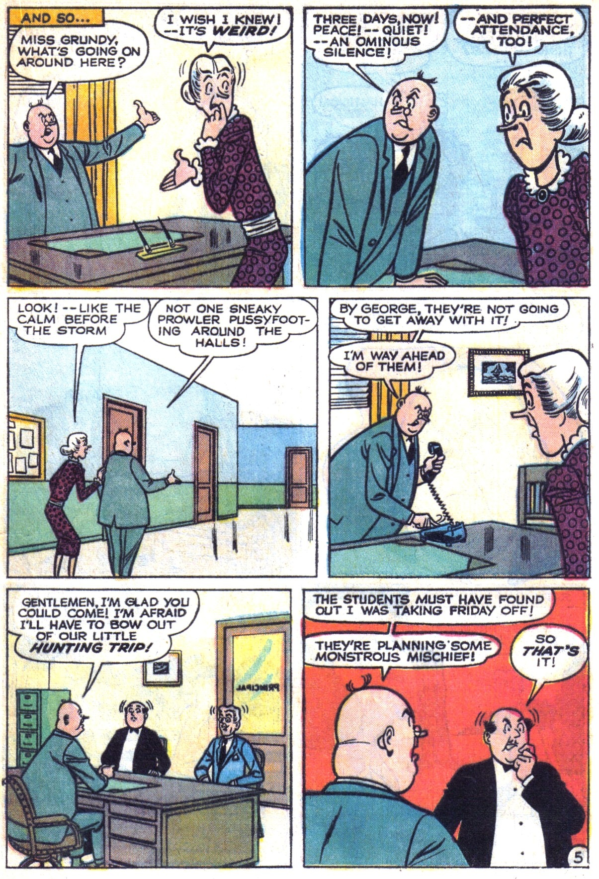 Read online Archie (1960) comic -  Issue #153 - 17