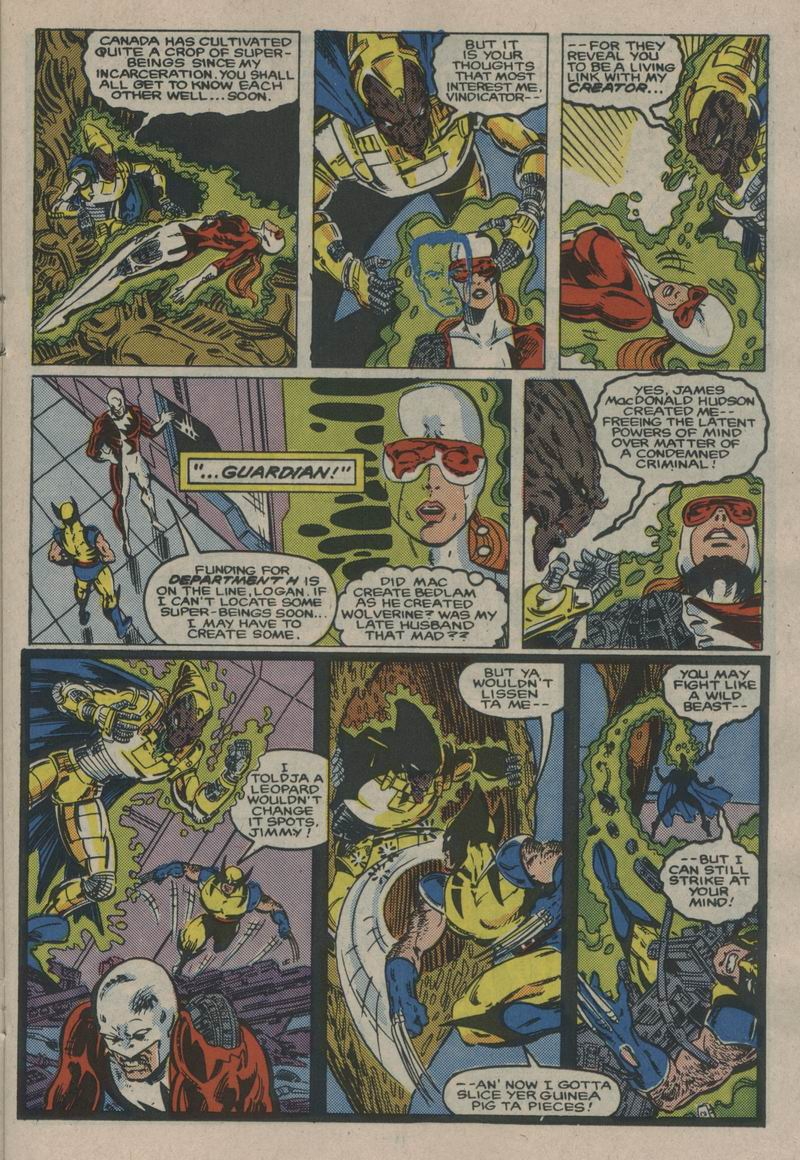 Read online Alpha Flight (1983) comic -  Issue #53 - 11