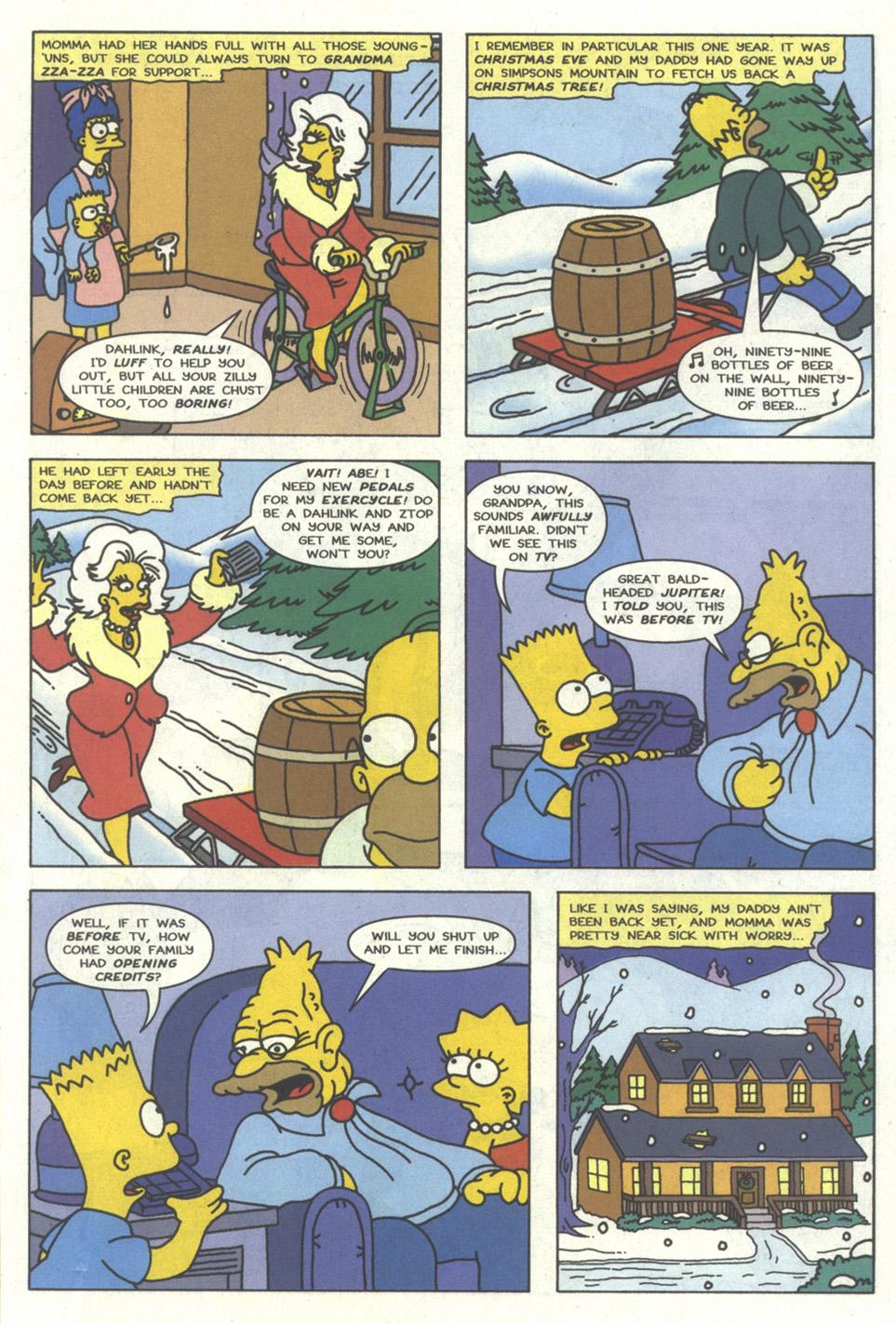 Read online Simpsons Comics comic -  Issue #15 - 8