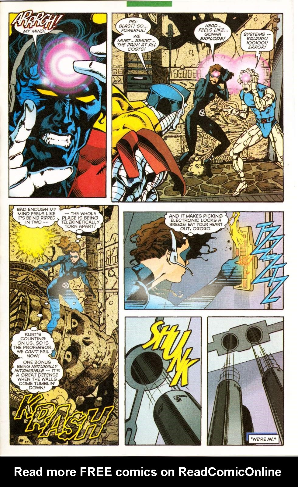 Excalibur (1988) issue 122 - Page 21