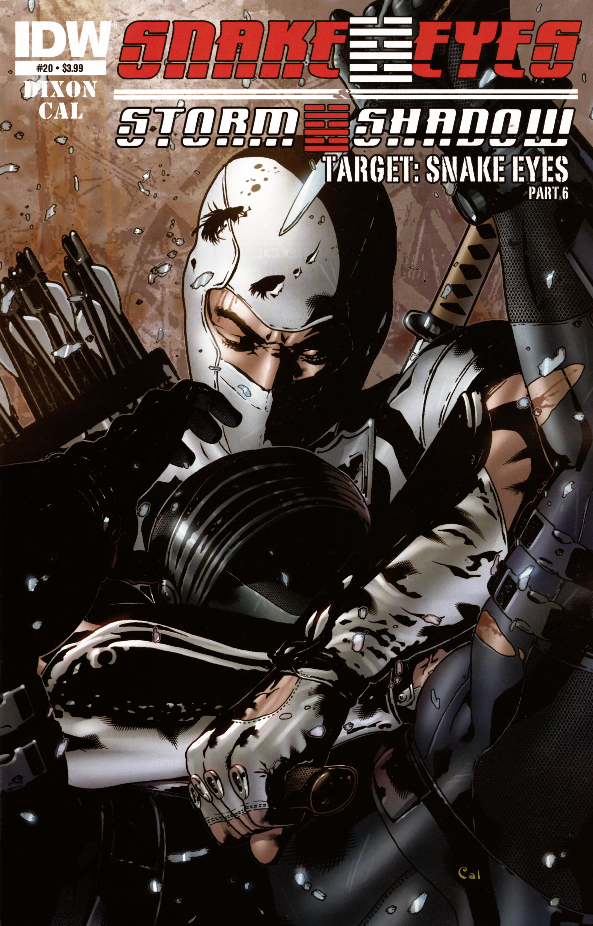 Read online Snake Eyes and Storm Shadow comic -  Issue #20 - 1