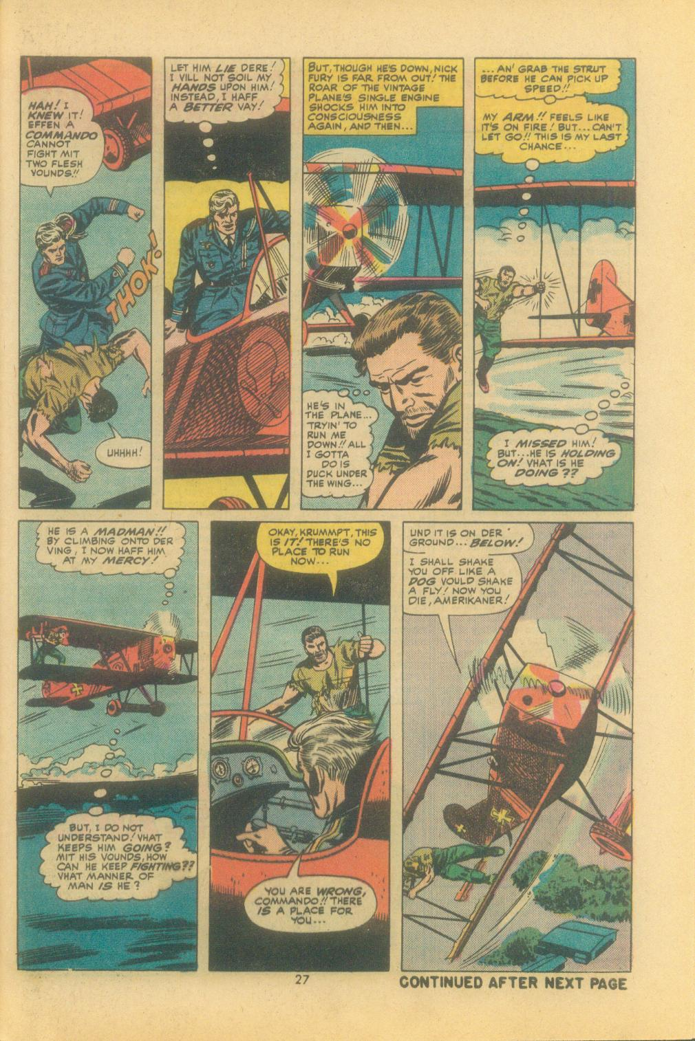 Read online Sgt. Fury comic -  Issue #121 - 29
