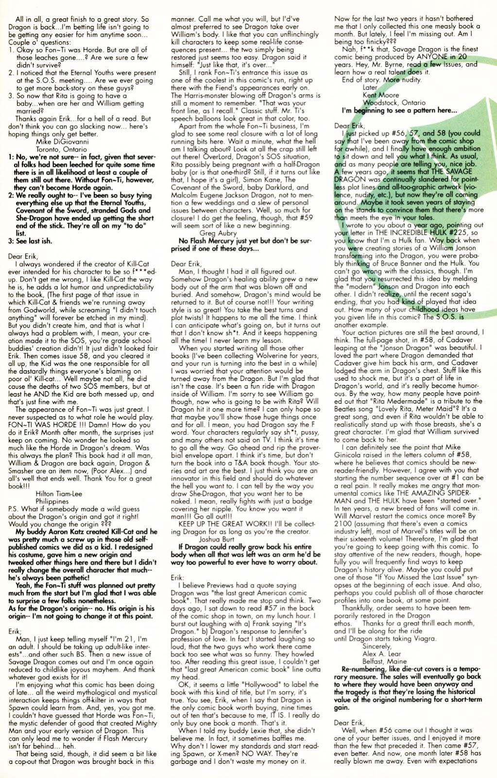 The Savage Dragon (1993) Issue #60 #63 - English 24