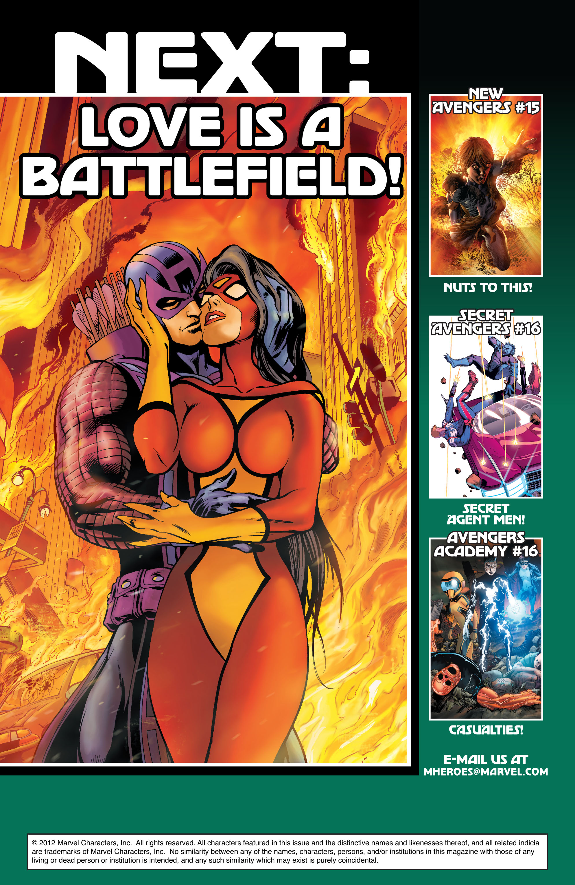 Read online Avengers (2010) comic -  Issue #16 - 25