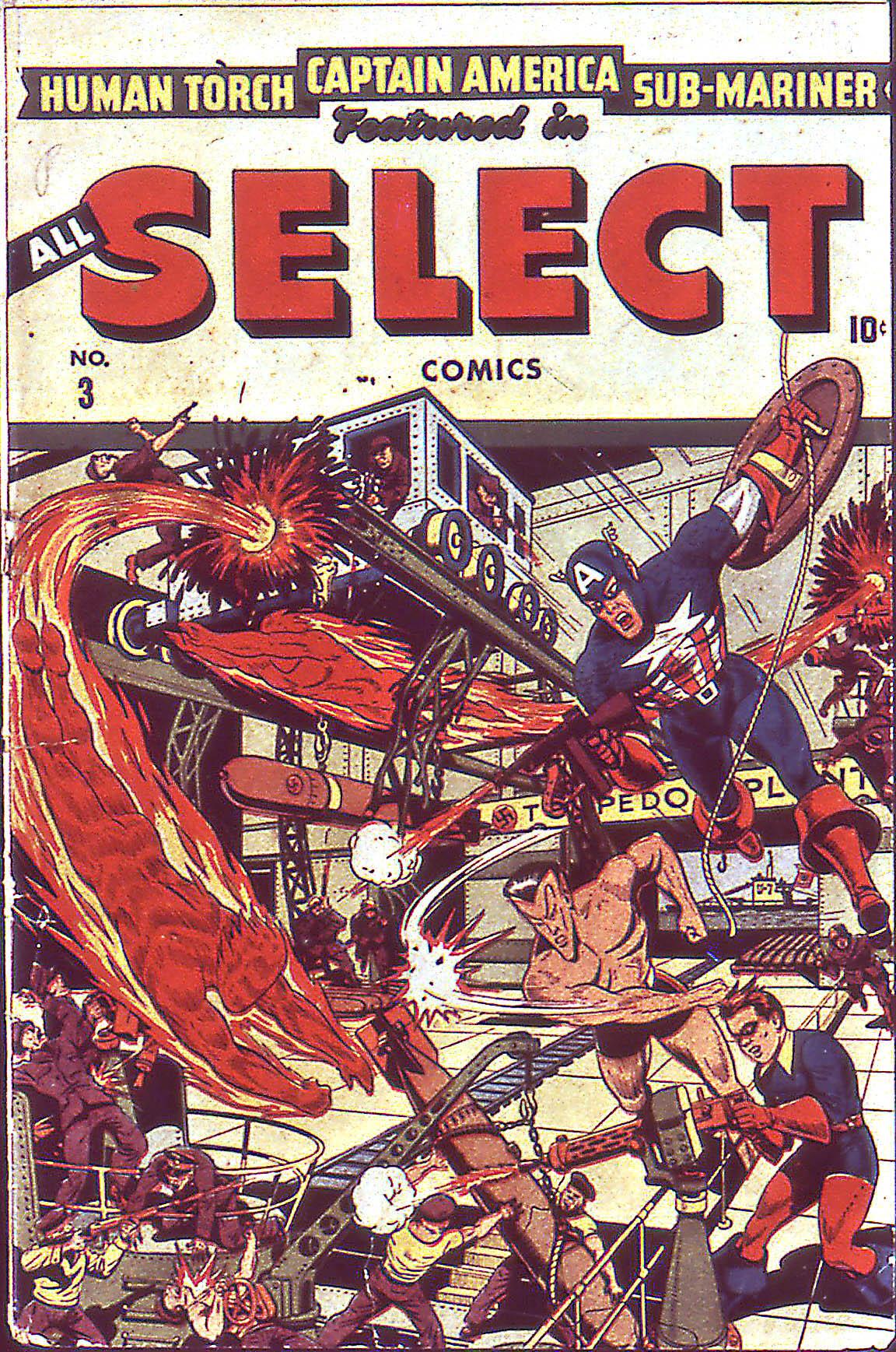 All-Select Comics 3 Page 1