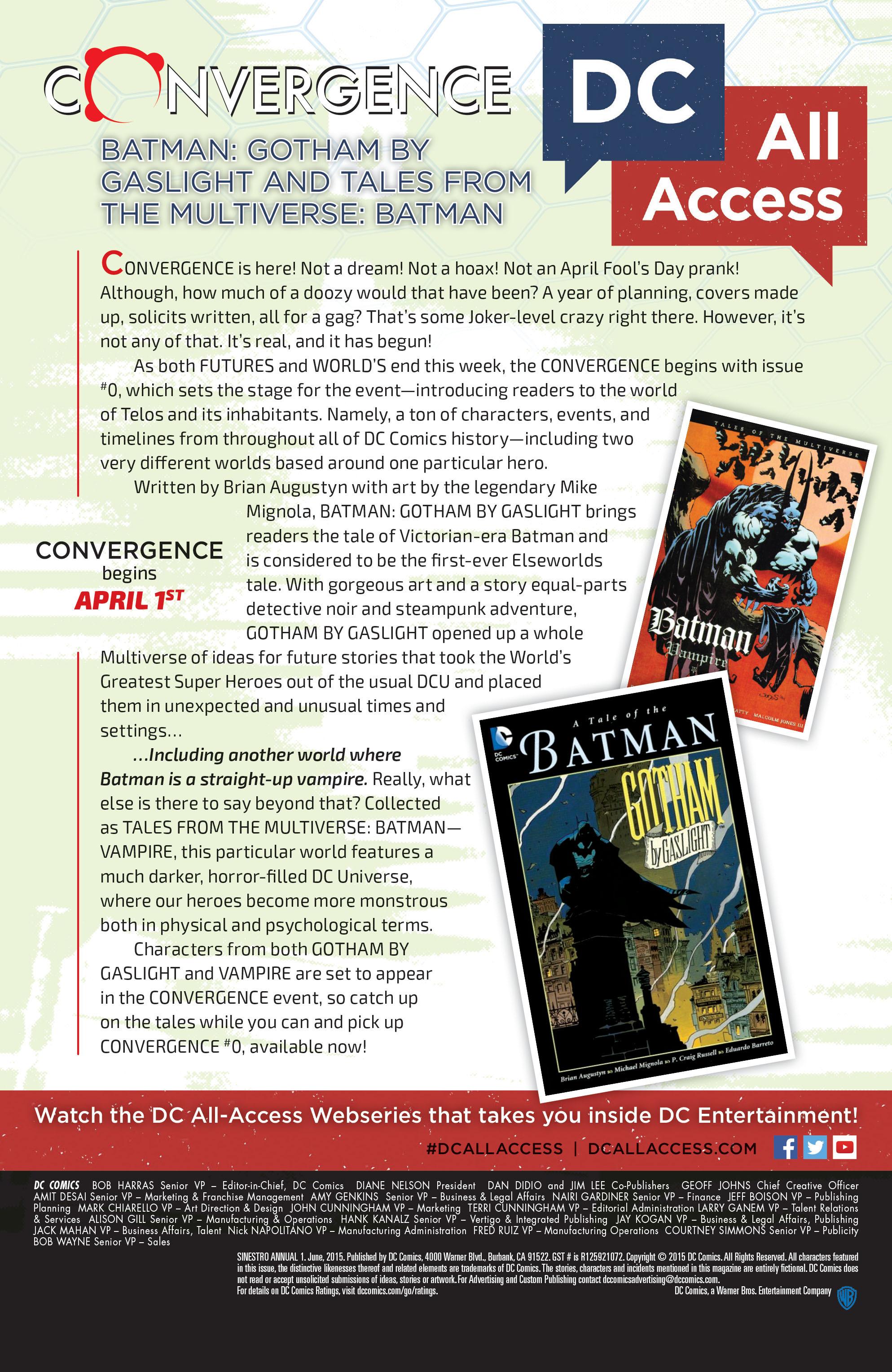 Read online Sinestro comic -  Issue # Annual 1 - 42