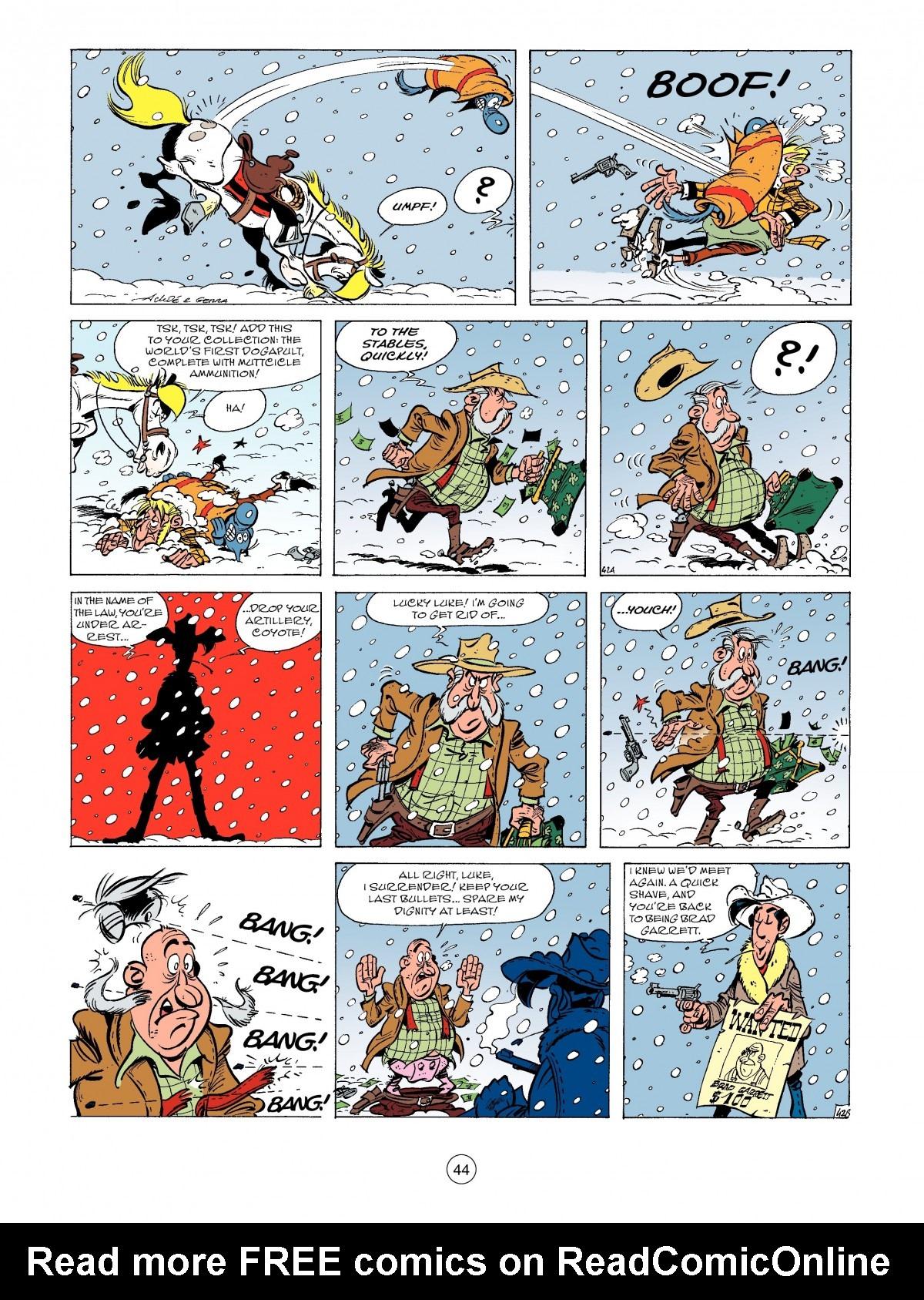 Read online A Lucky Luke Adventure comic -  Issue #52 - 46