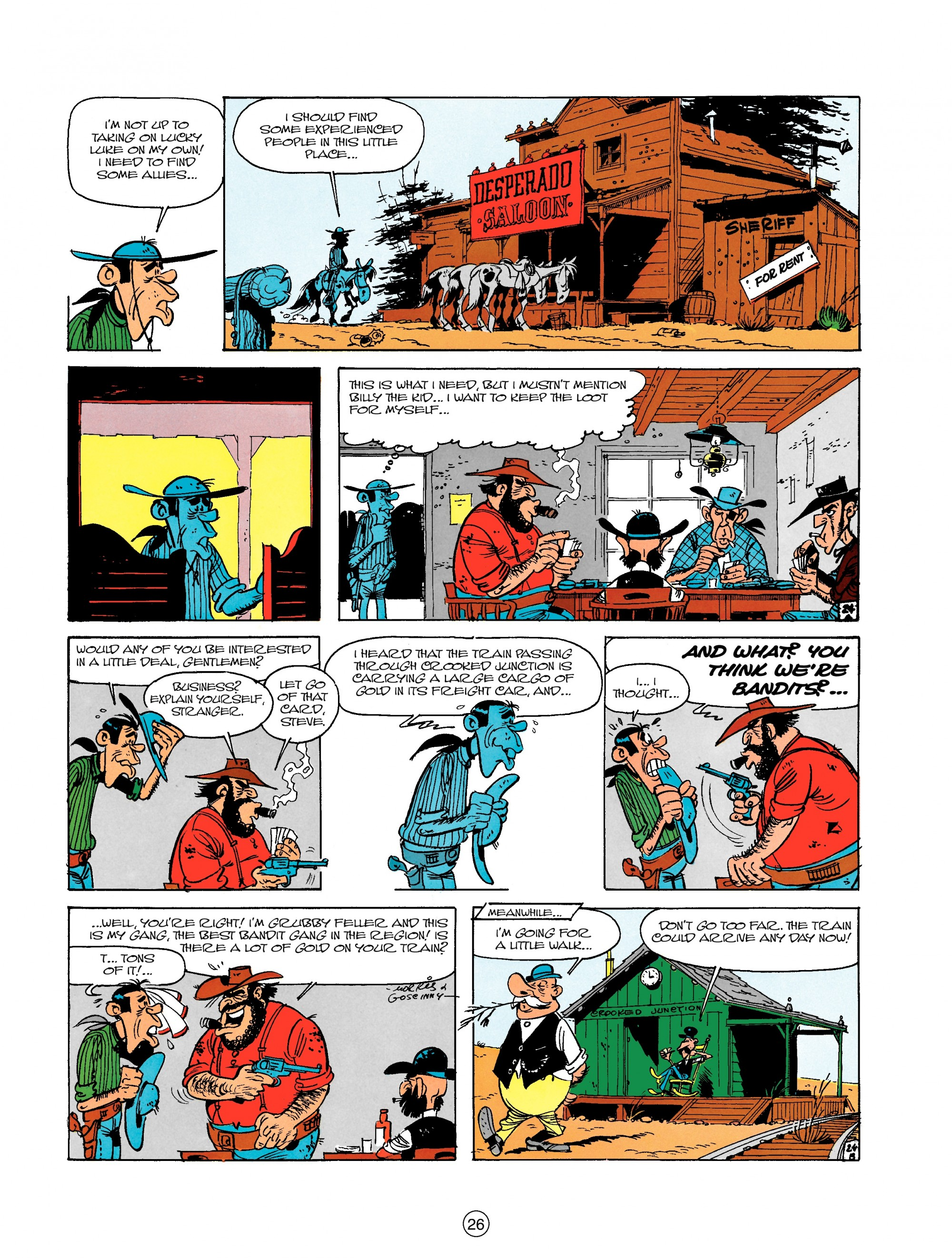Read online A Lucky Luke Adventure comic -  Issue #18 - 26