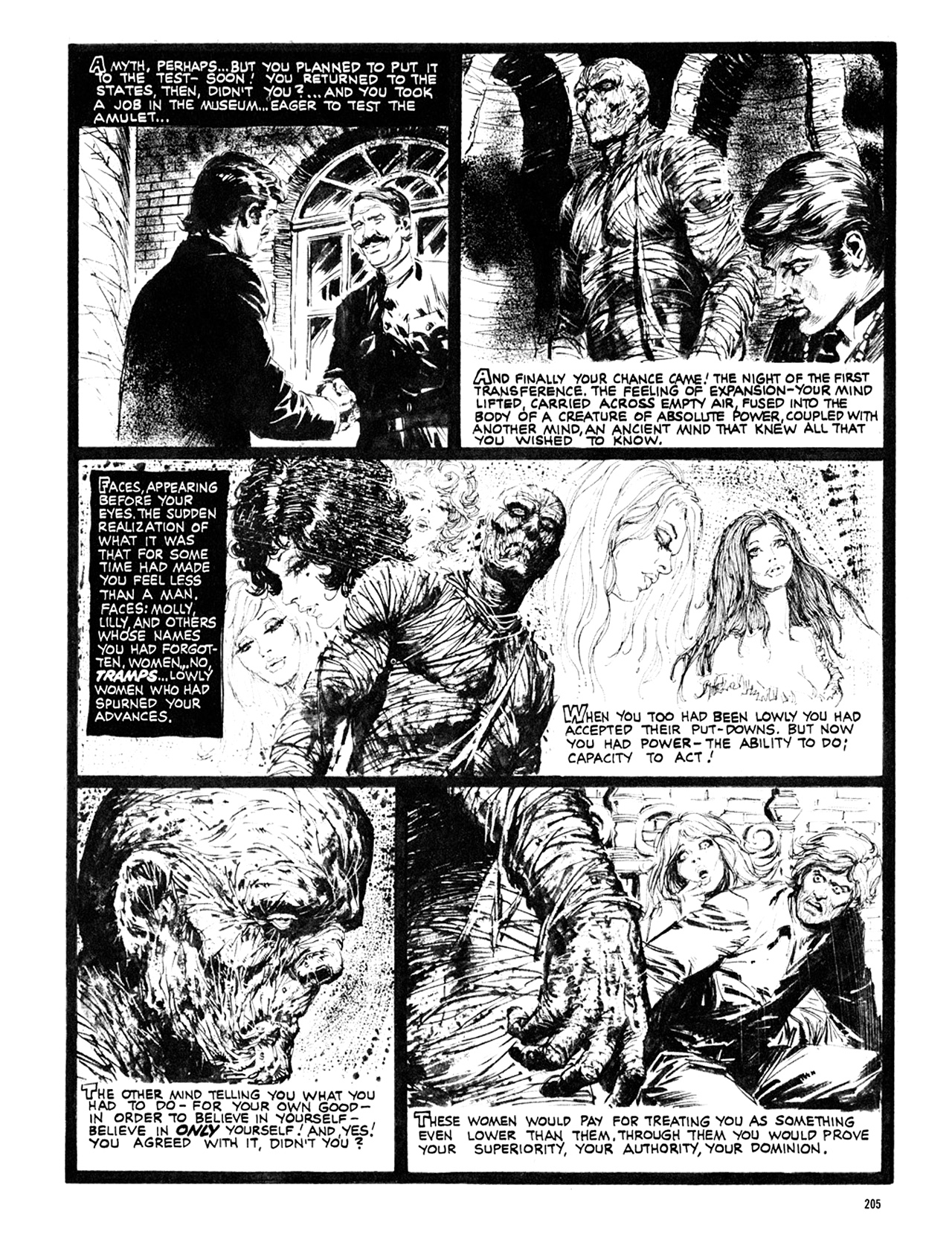 Read online Eerie Archives comic -  Issue # TPB 10 - 206