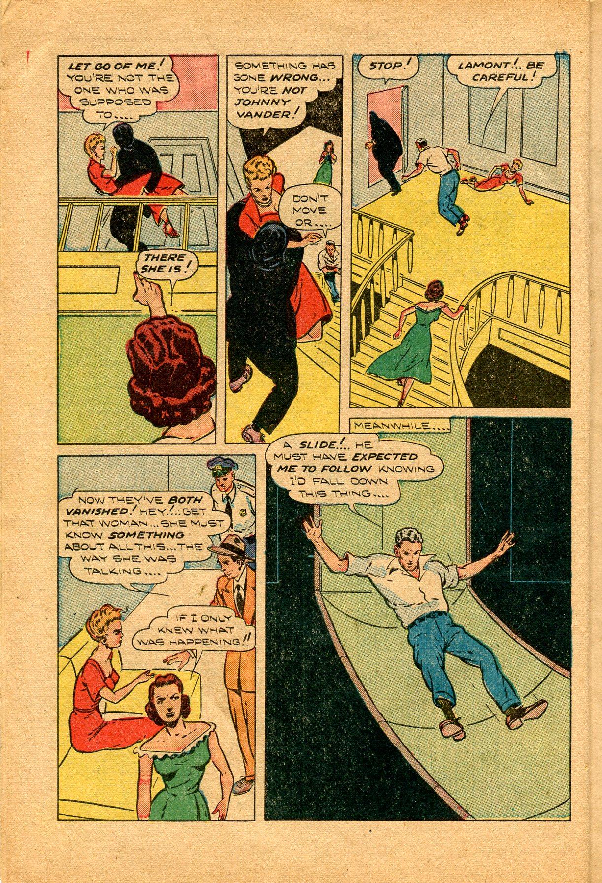 Read online Shadow Comics comic -  Issue #94 - 10