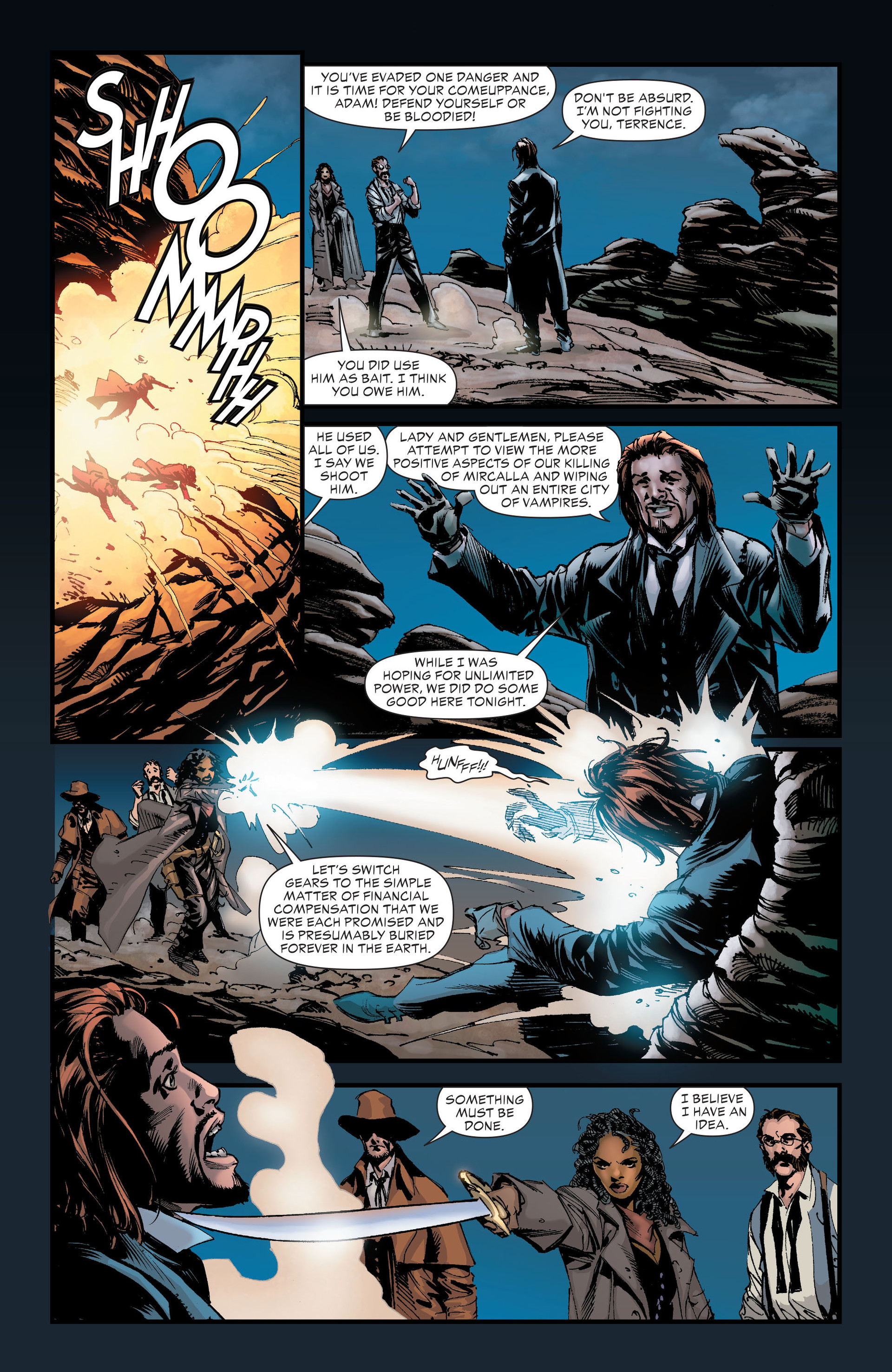 Read online All-Star Western (2011) comic -  Issue #21 - 28