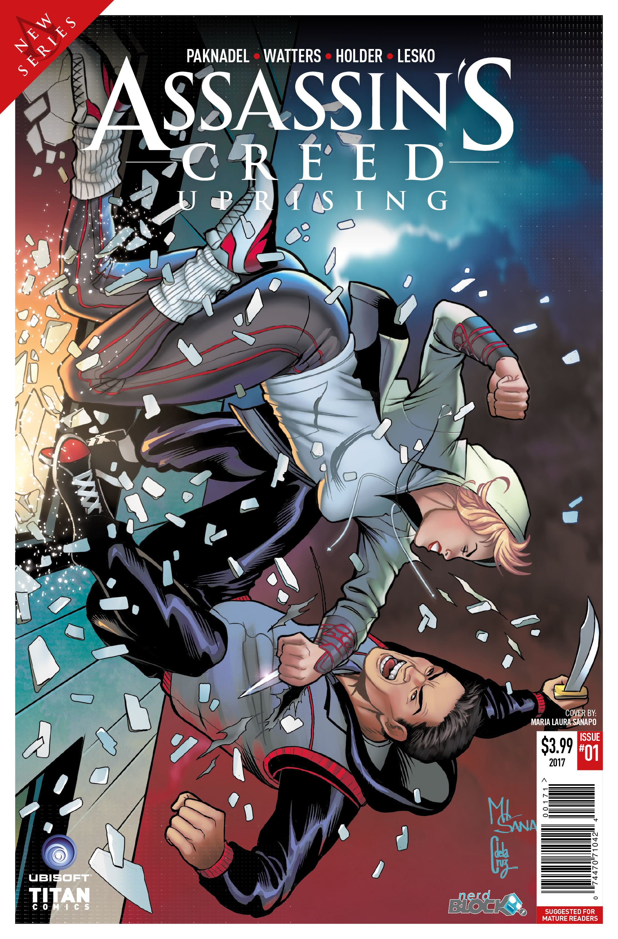Read online Assassin's Creed: Uprising comic -  Issue #1 - 6