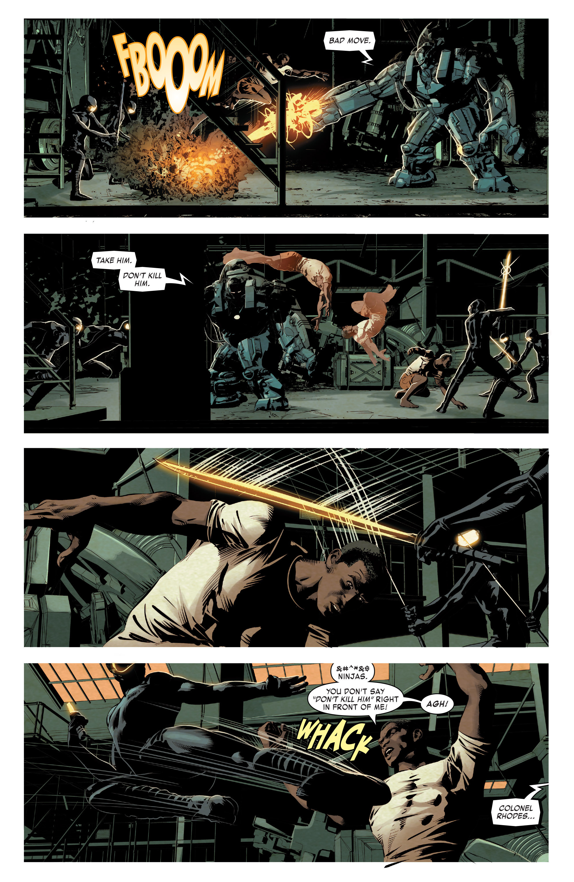 Read online True Believers: Invincible Iron Man-The War Machines comic -  Issue # Full - 52