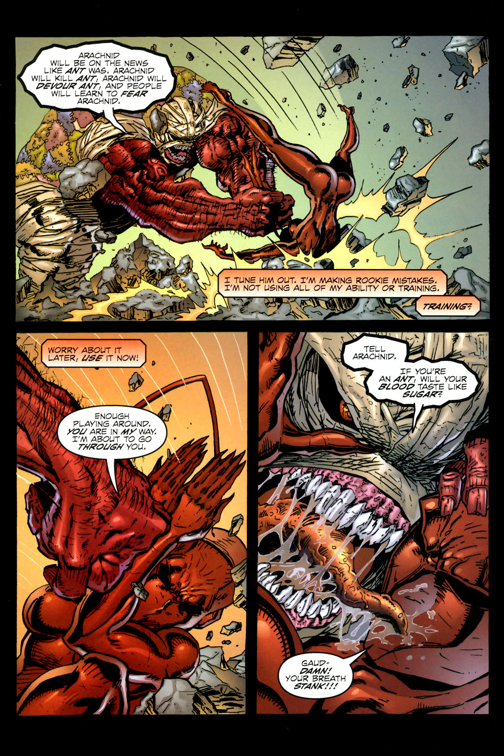 Read online Ant comic -  Issue #2 - 6