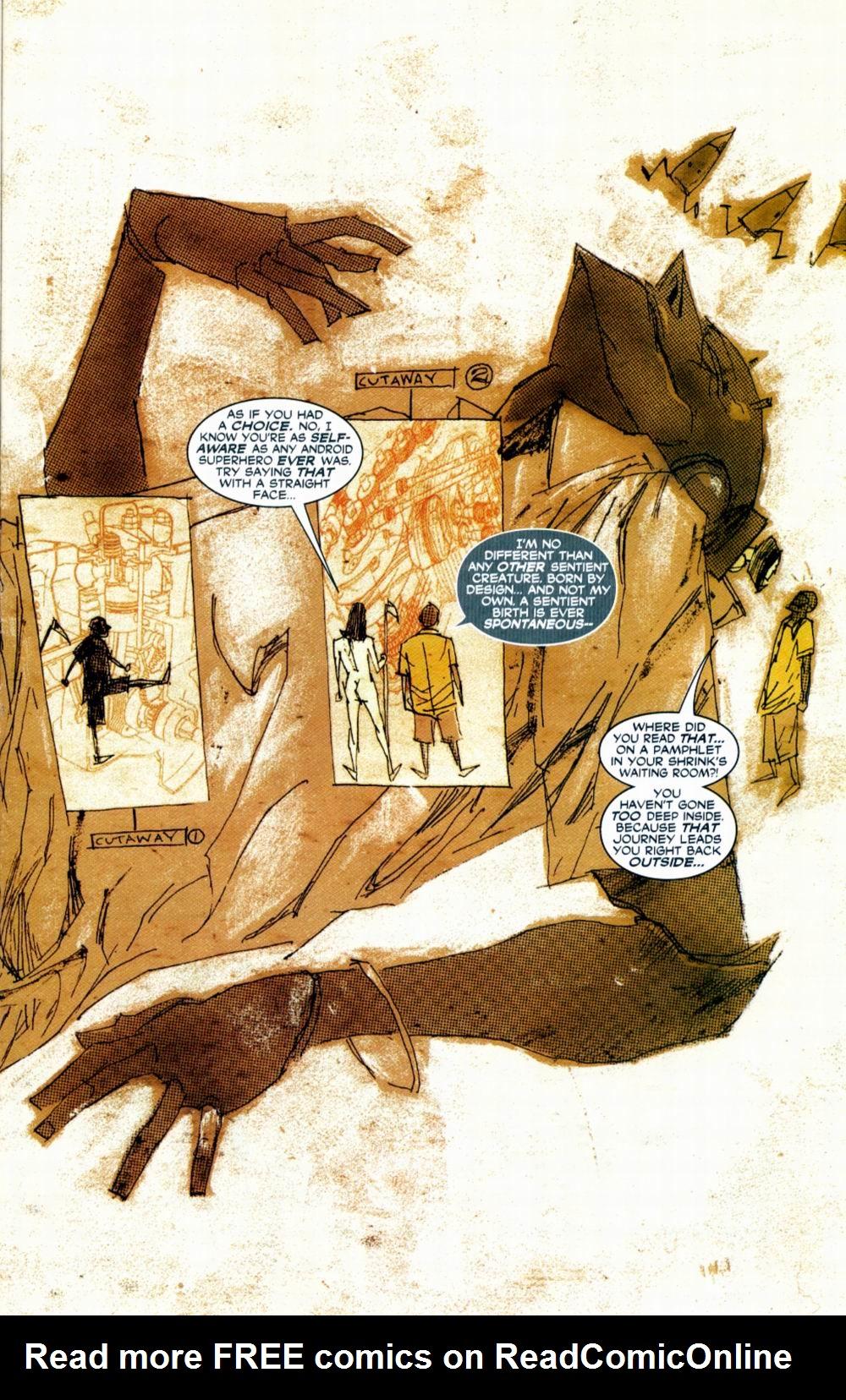 Read online Automatic Kafka comic -  Issue #1 - 16