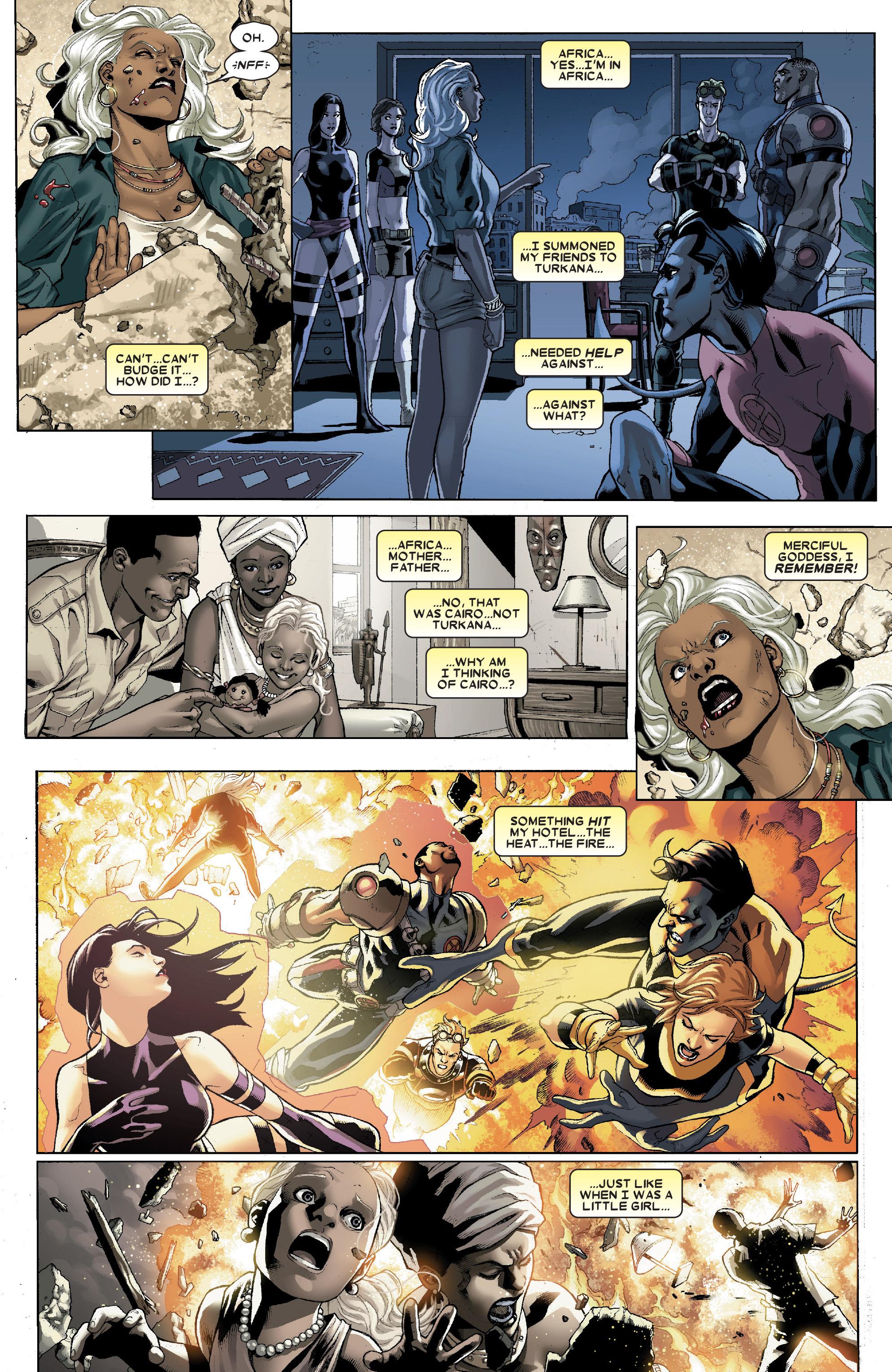 Read online Uncanny X-Men (1963) comic -  Issue # _Annual 1 (2006) - 4