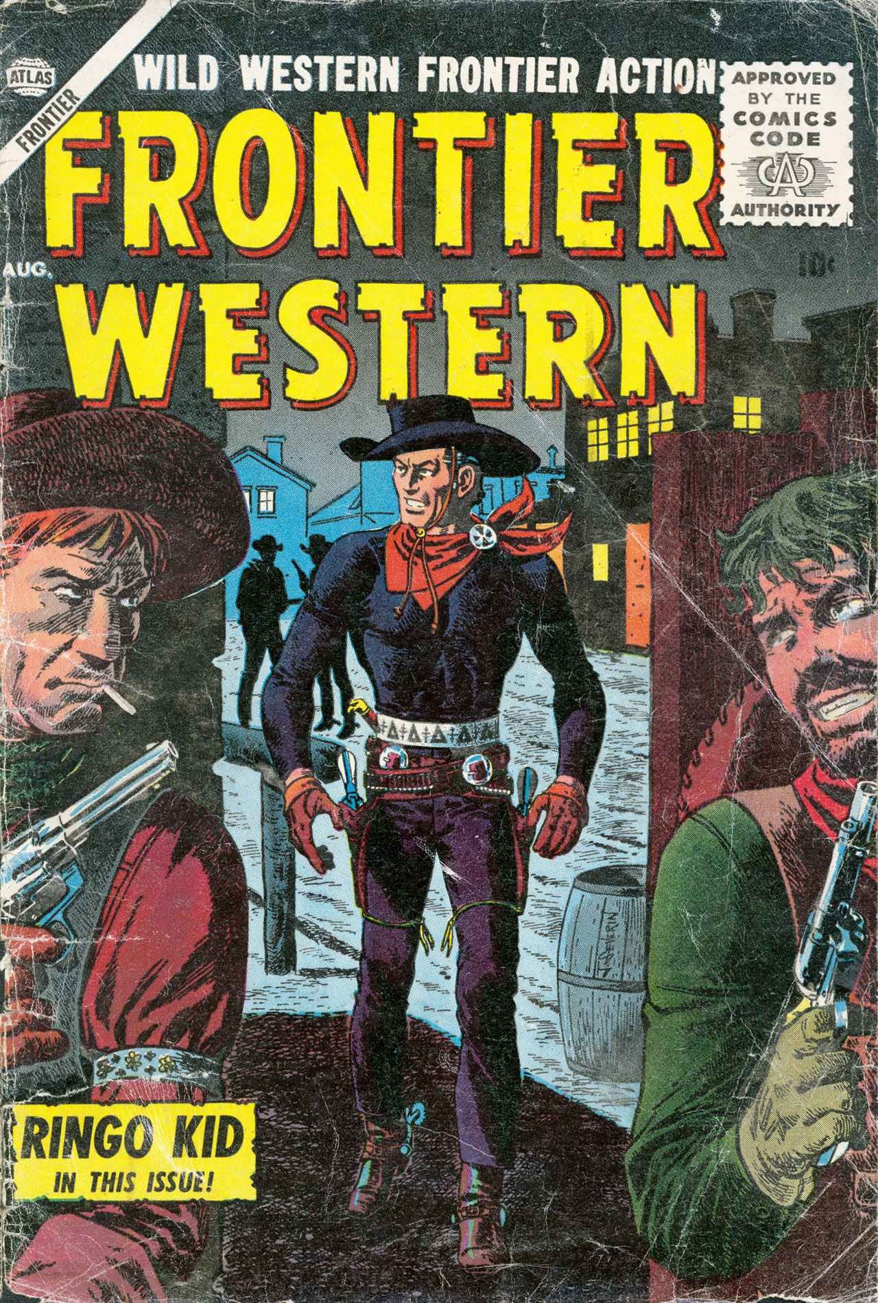 Frontier Western 4 Page 1
