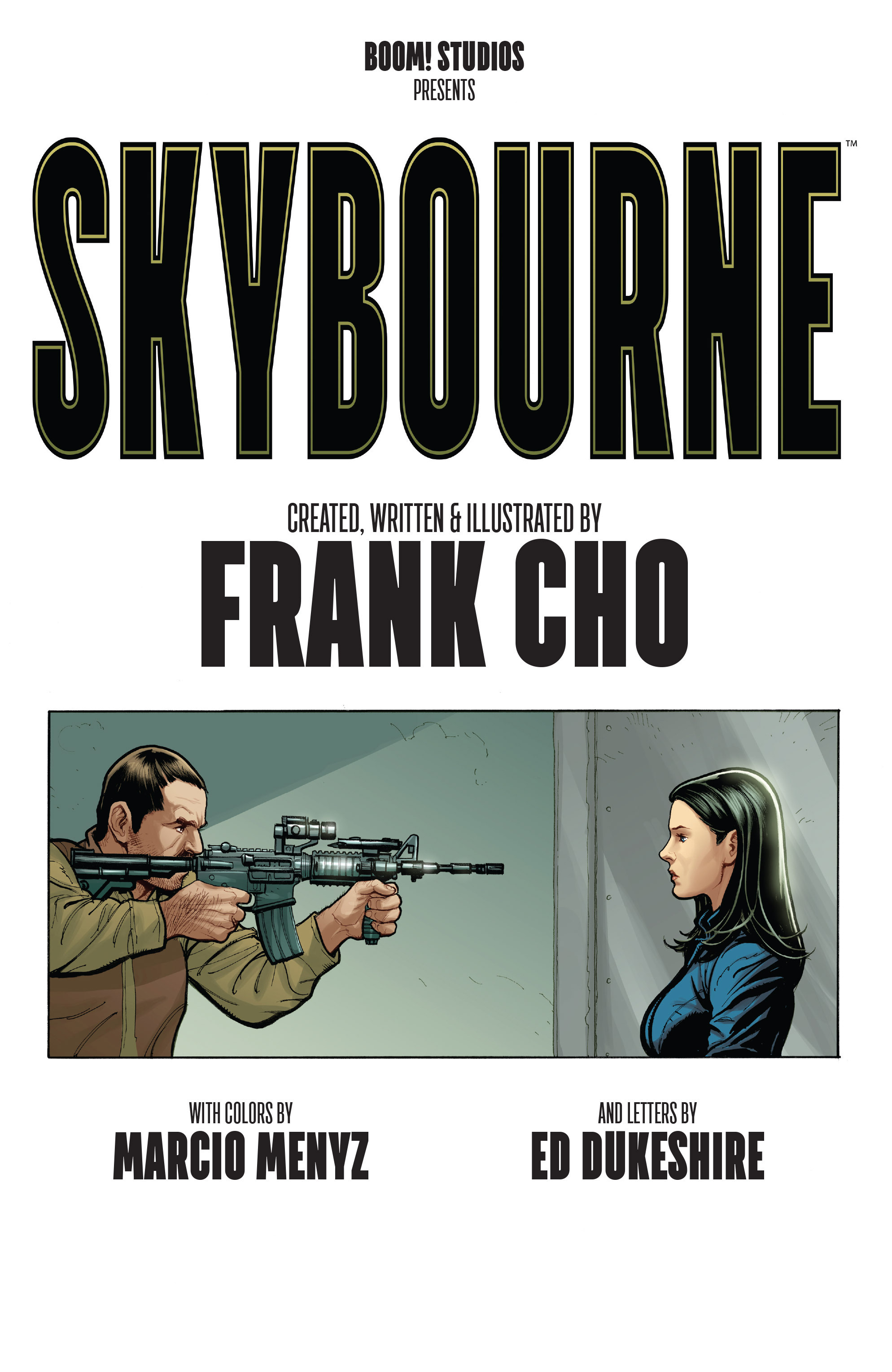 Read online Skybourne comic -  Issue #1 - 6