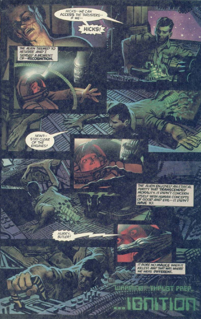 Read online Aliens (1989) comic -  Issue #1 - 21
