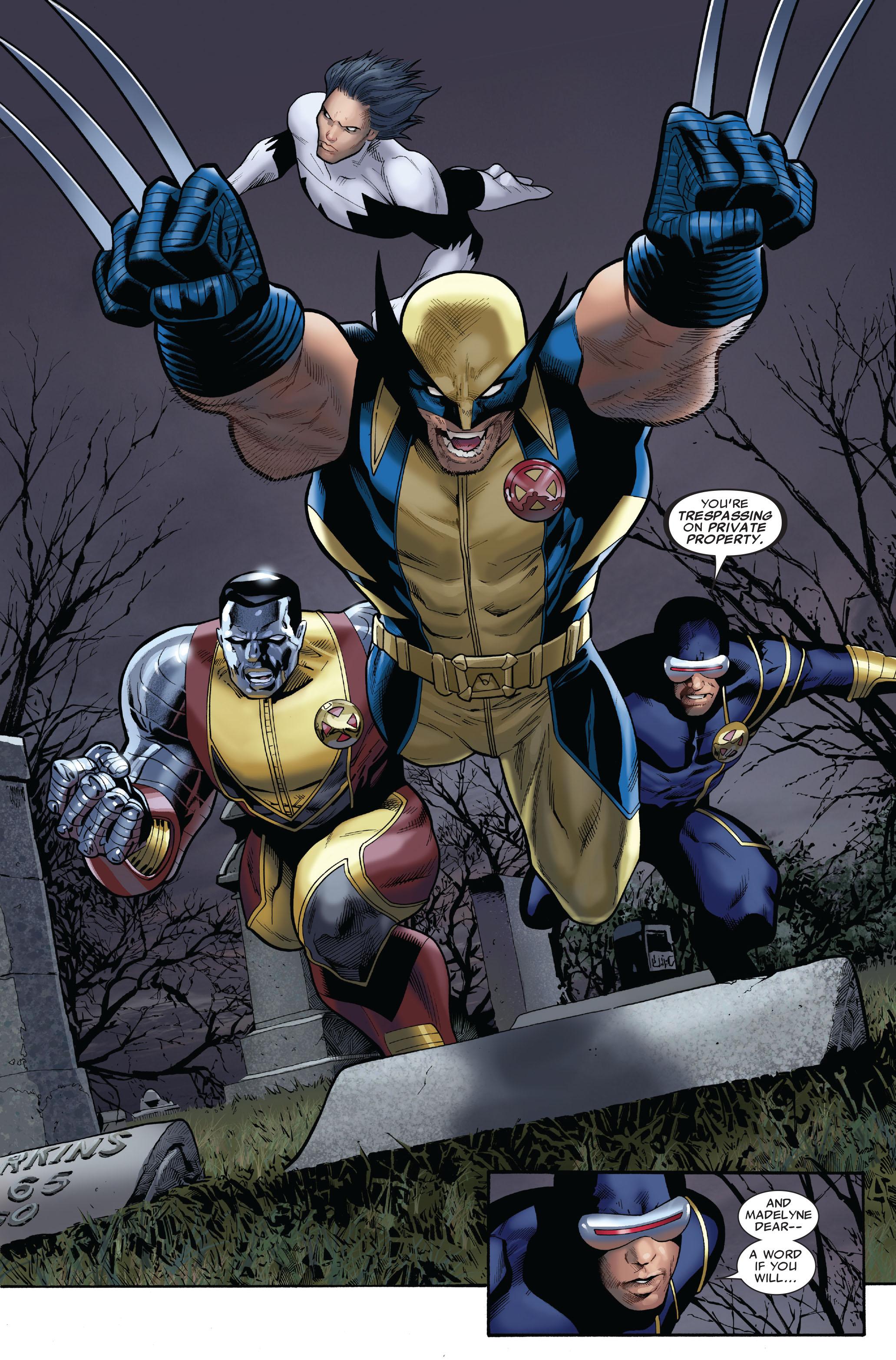 Read online Uncanny X-Men (1963) comic -  Issue #511 - 12