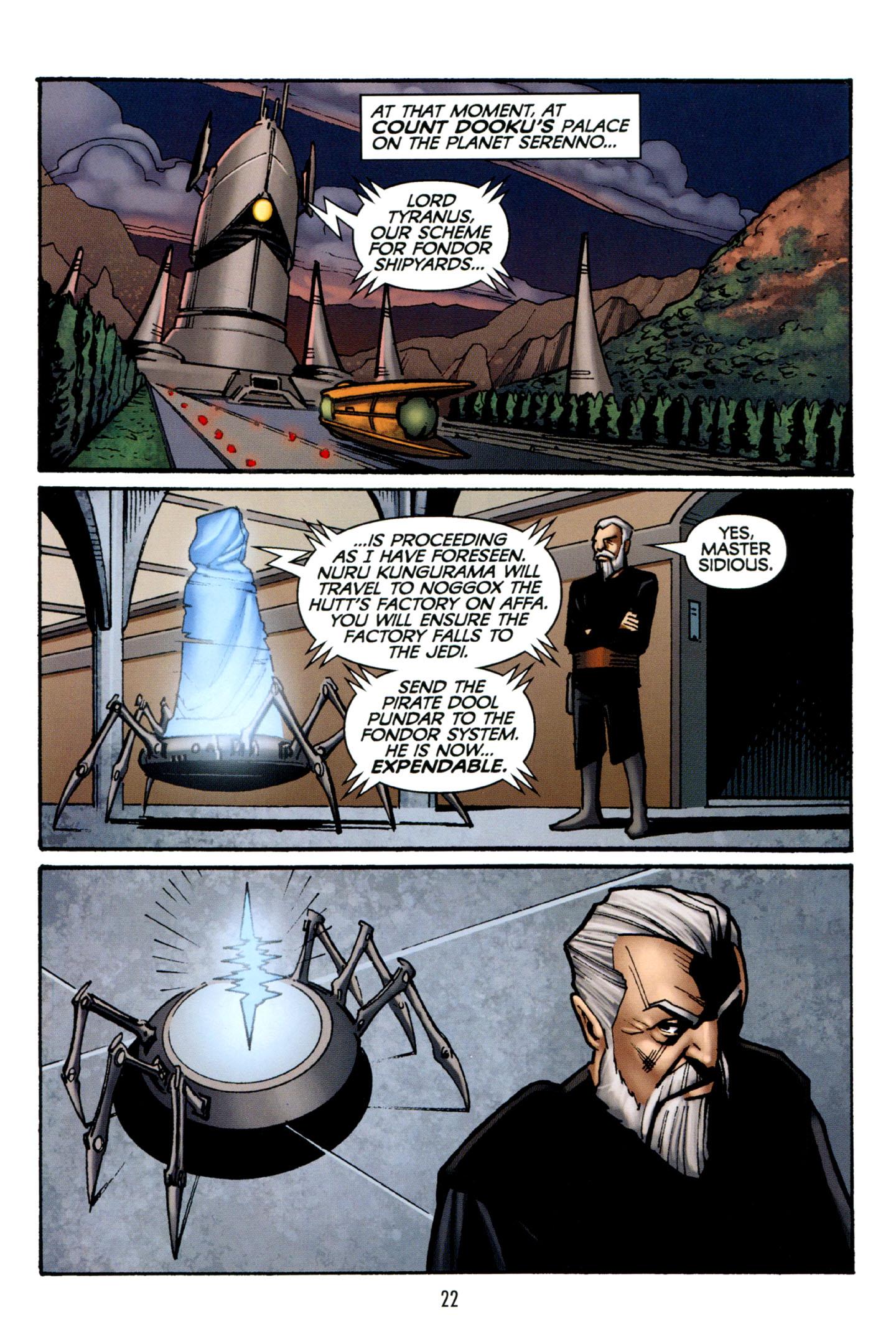 Read online Star Wars: The Clone Wars - Strange Allies comic -  Issue # Full - 23