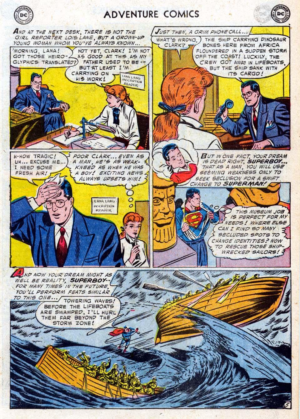 Read online Adventure Comics (1938) comic -  Issue #211 - 7