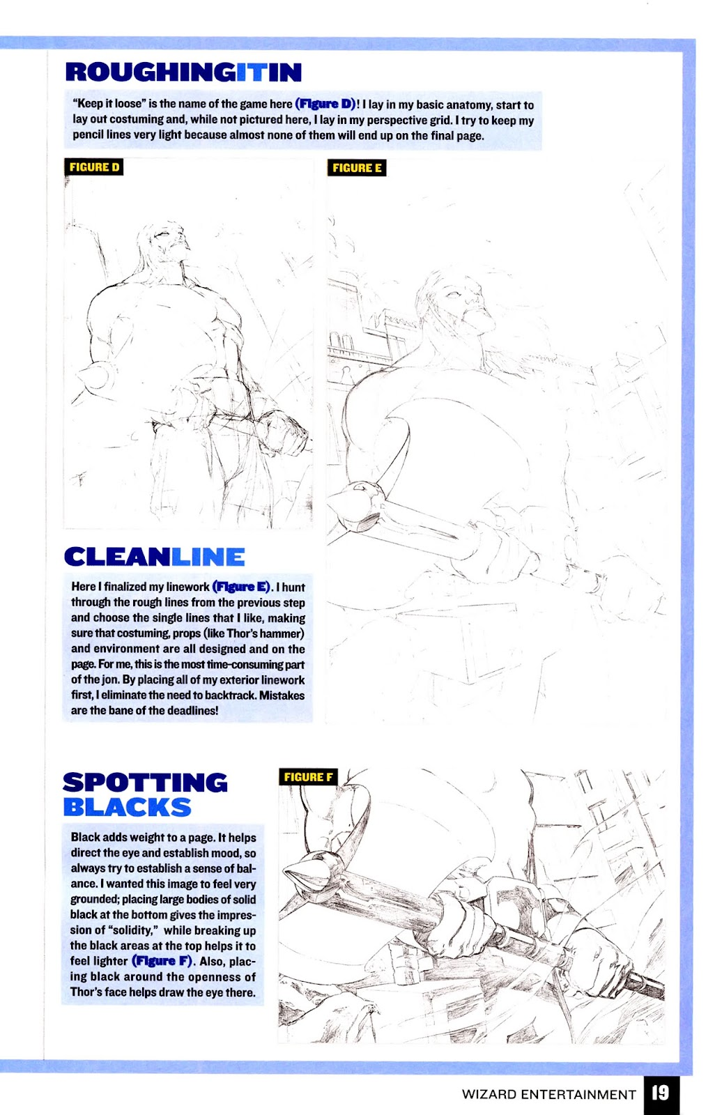 Read online Wizard How to Draw Sampler comic -  Issue # Full - 20