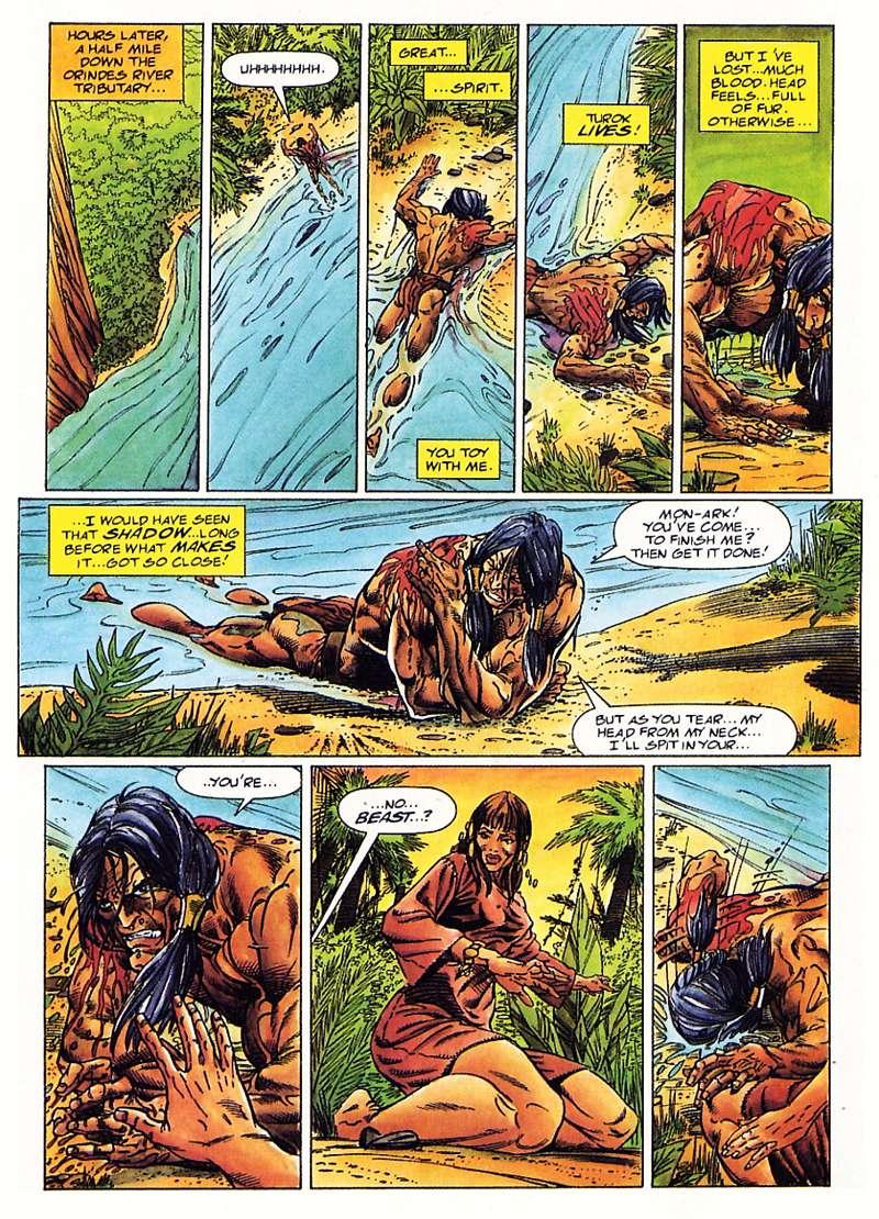 Read online Turok, Dinosaur Hunter (1993) comic -  Issue #1 - 12