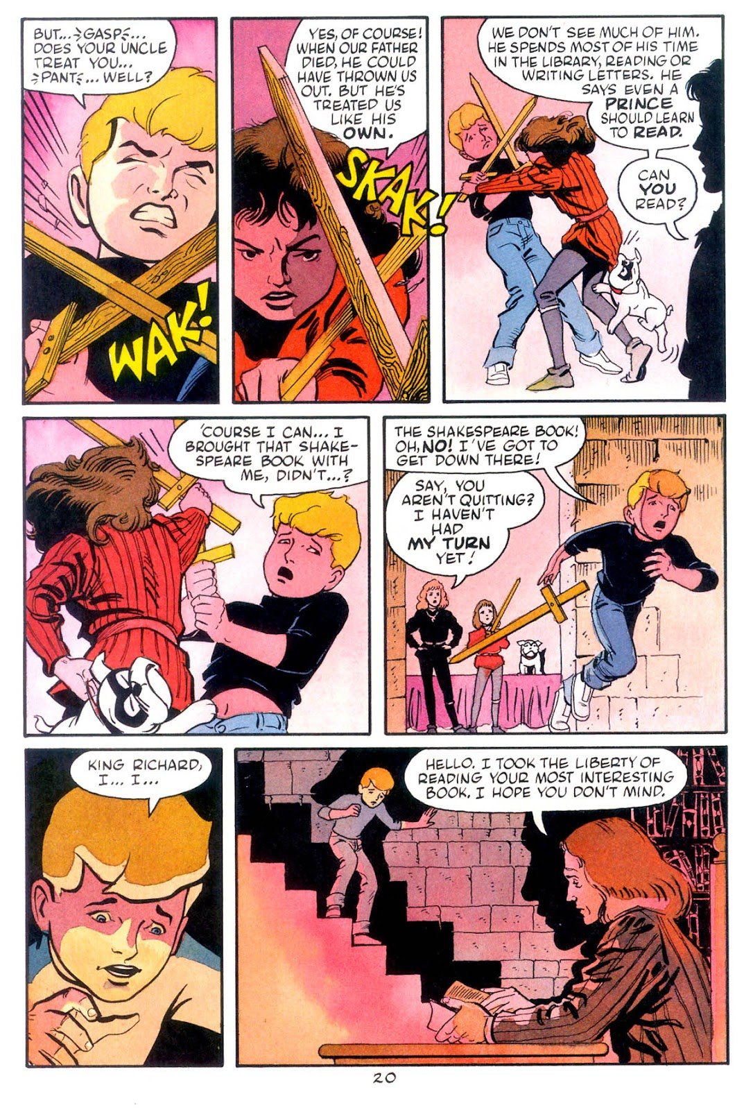 Jonny Quest (1986) issue 10 - Page 22