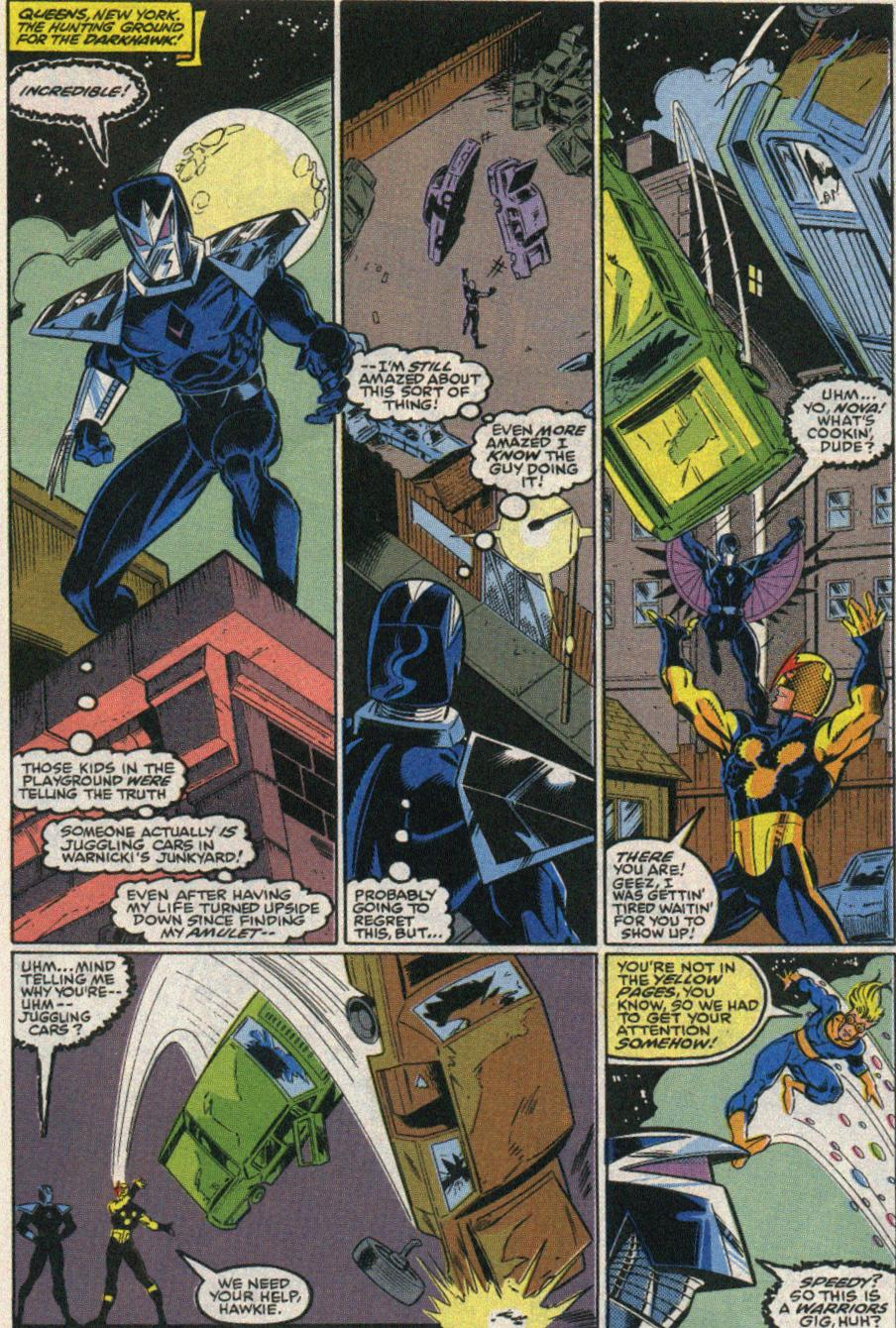 The New Warriors Issue #22 #26 - English 14