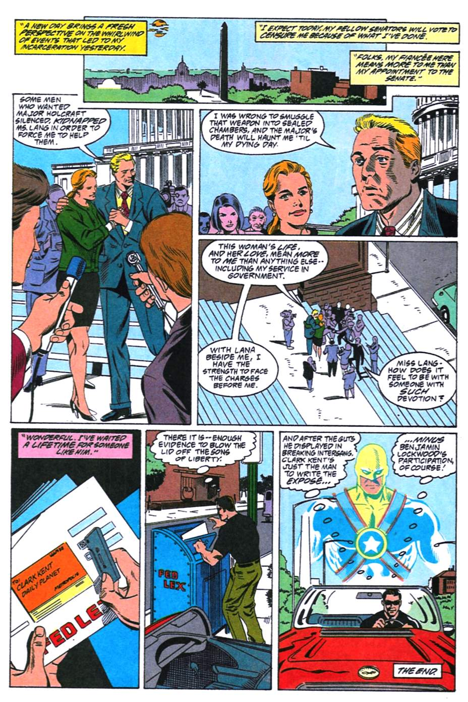 Read online Adventures of Superman (1987) comic -  Issue #492 - 23