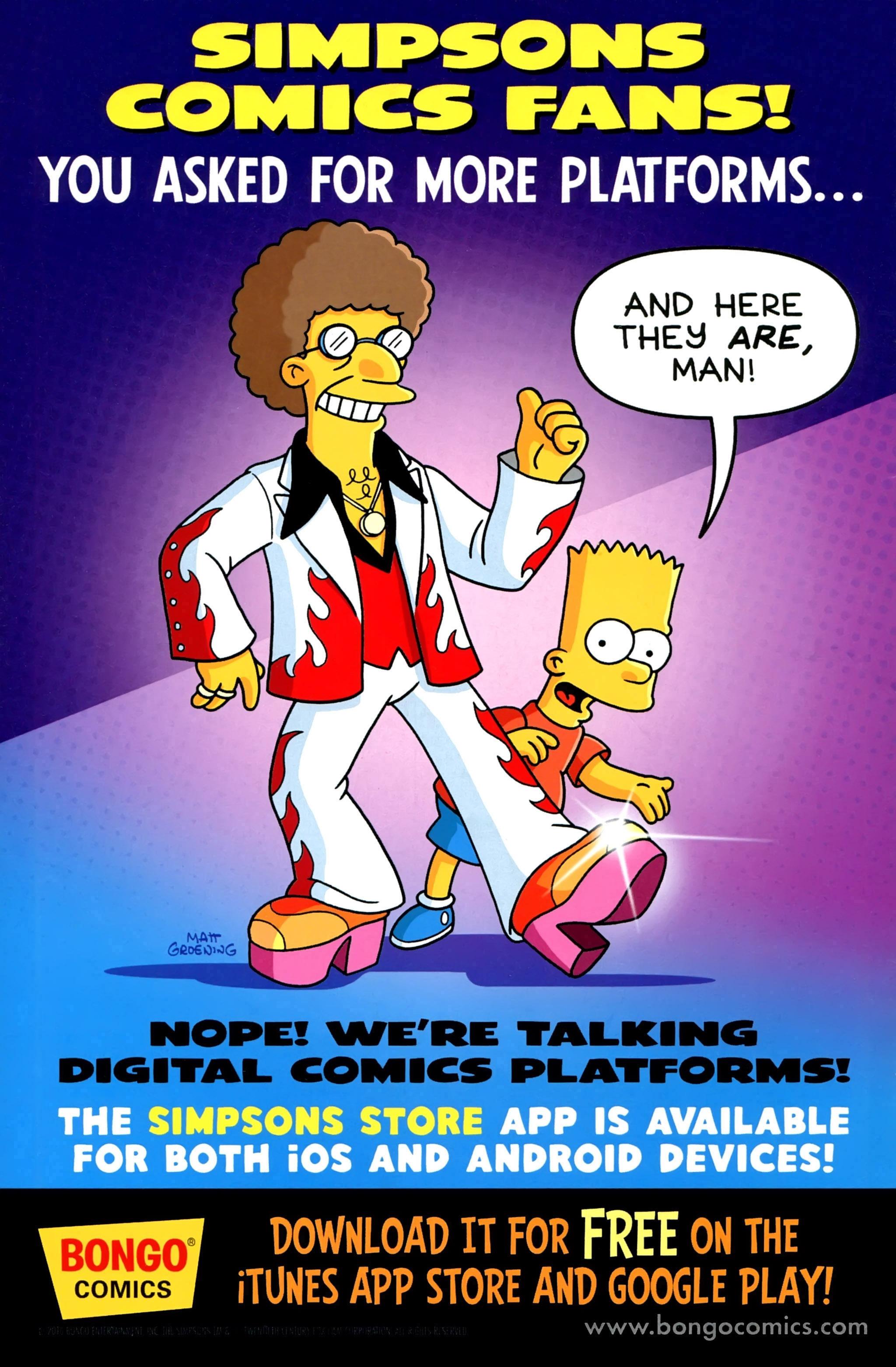 Read online Simpsons Comics comic -  Issue #234 - 2
