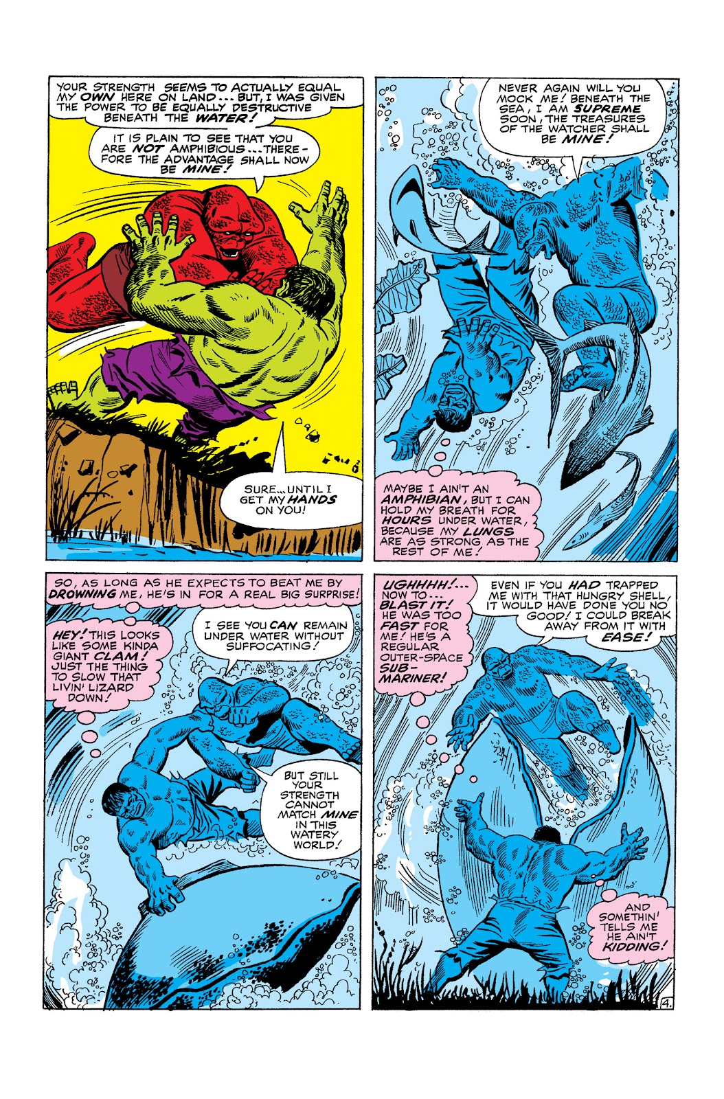 Read online Marvel Masterworks: The Incredible Hulk comic -  Issue # TPB 2 (Part 2) - 82