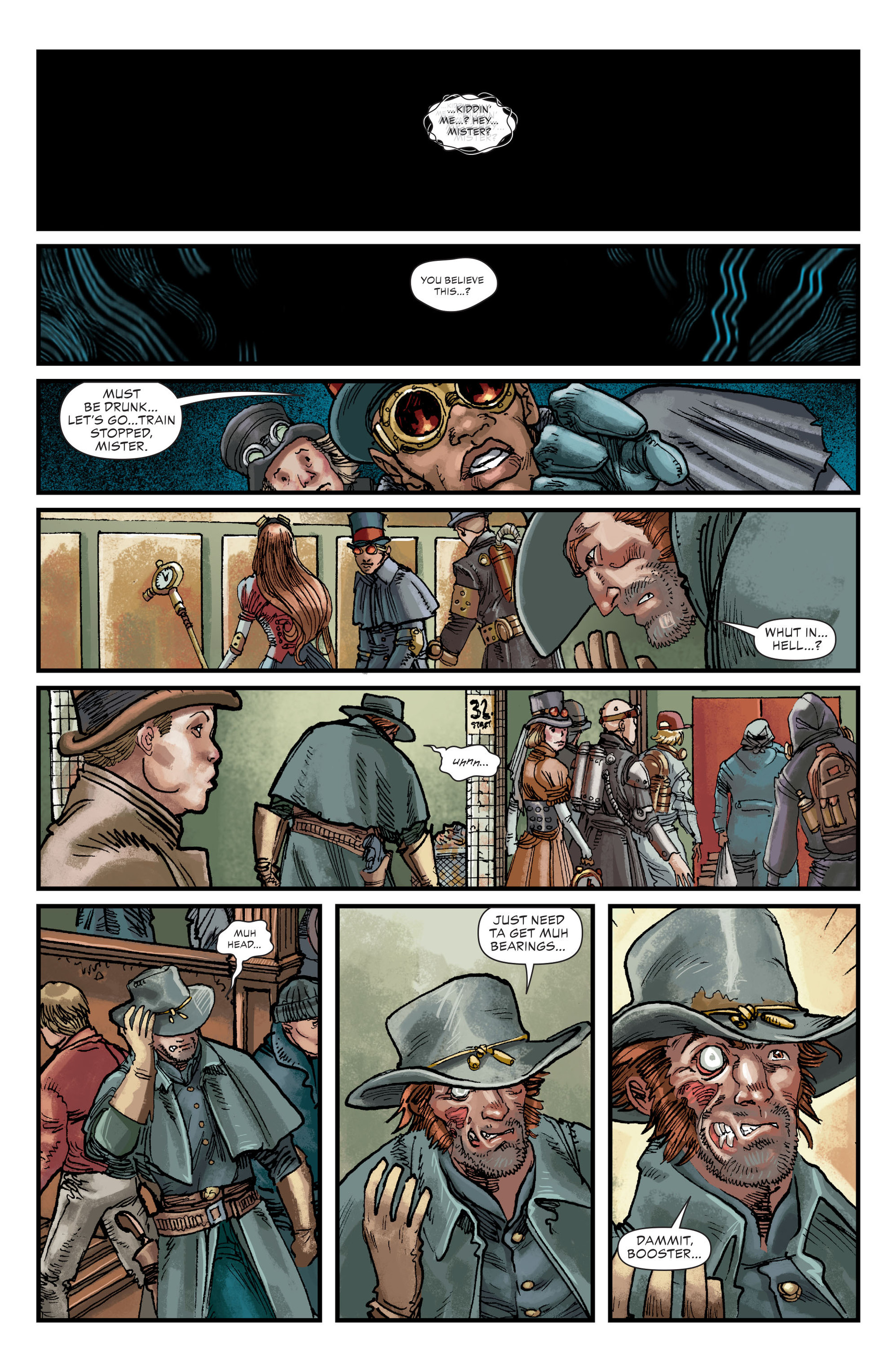 Read online All-Star Western (2011) comic -  Issue #21 - 8
