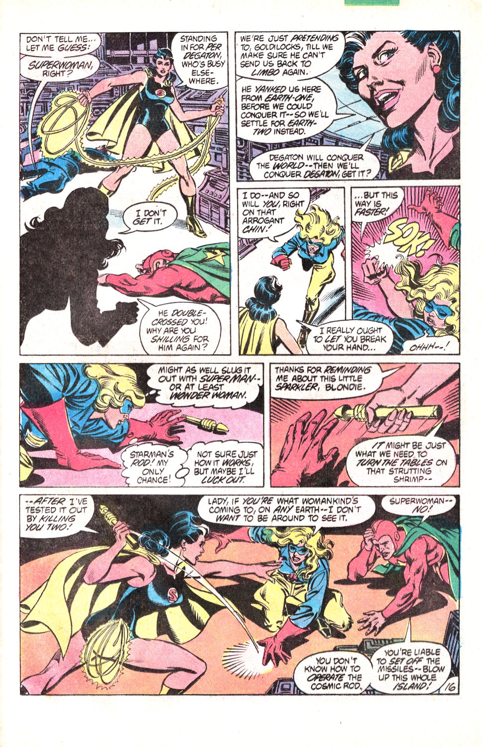 Read online All-Star Squadron comic -  Issue #15 - 36