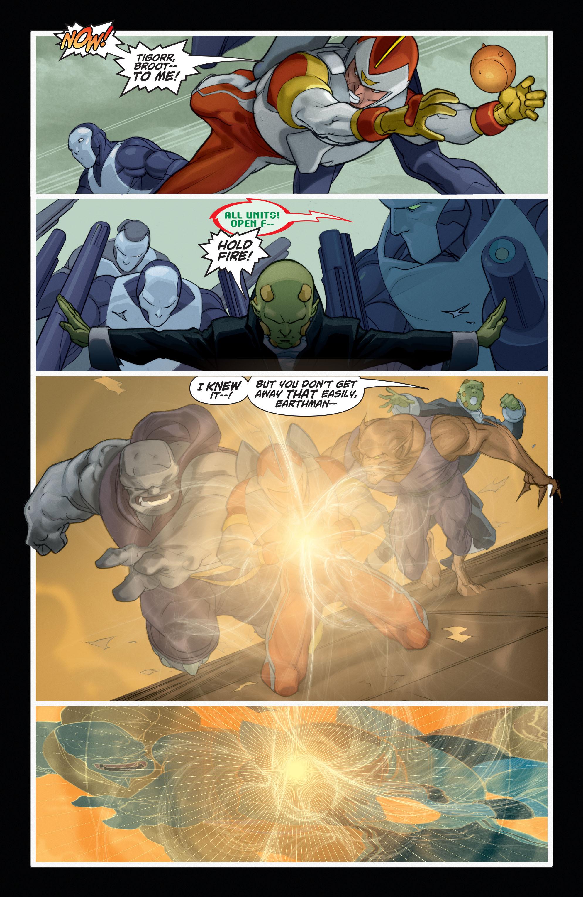 Read online Adam Strange (2004) comic -  Issue #6 - 20