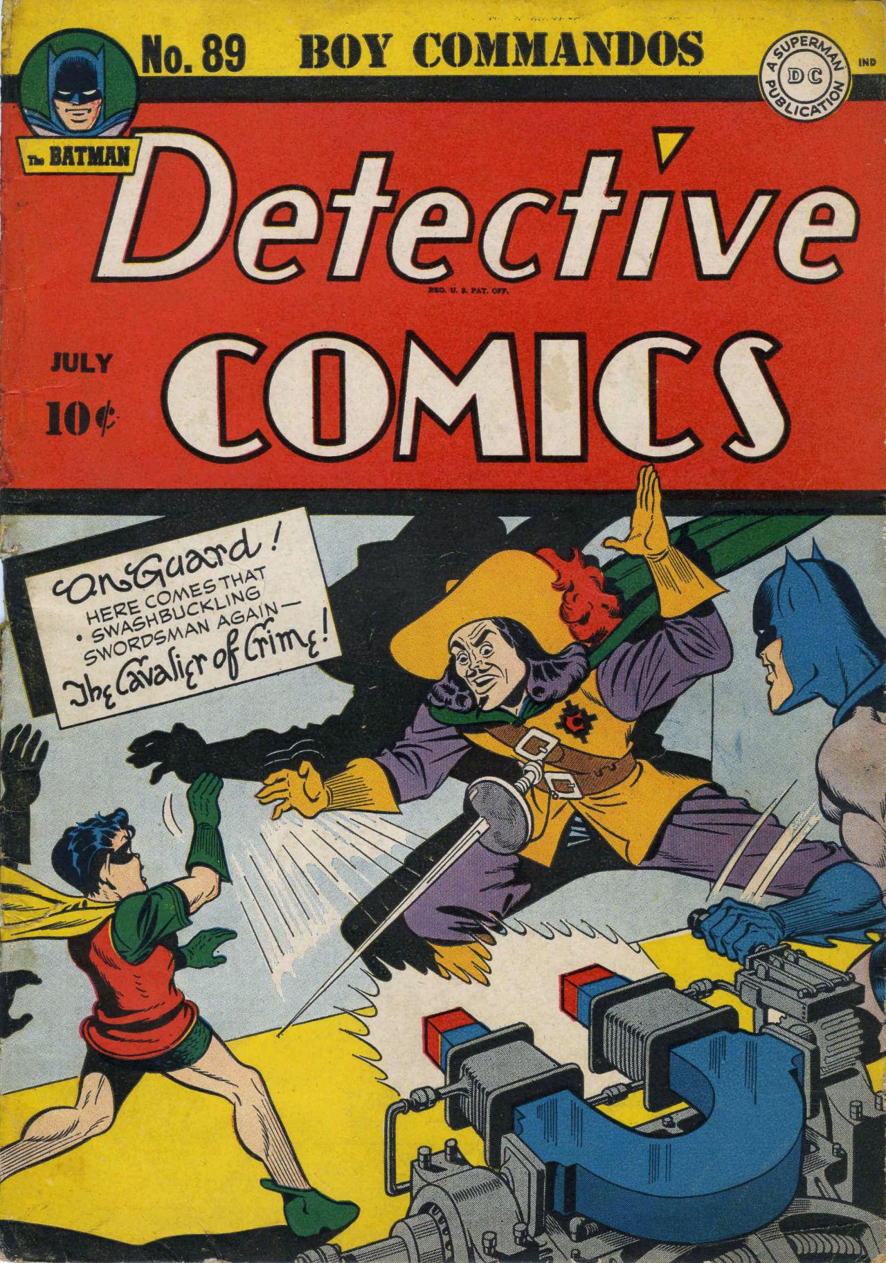 Read online Detective Comics (1937) comic -  Issue #89 - 1