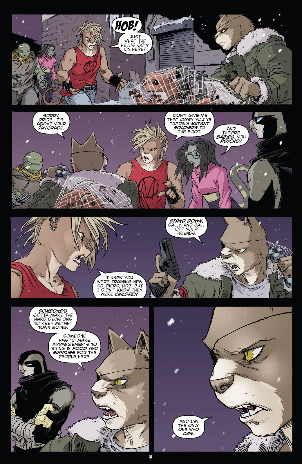 Read online Teenage Mutant Ninja Turtles (2011) comic -  Issue #103 - 20
